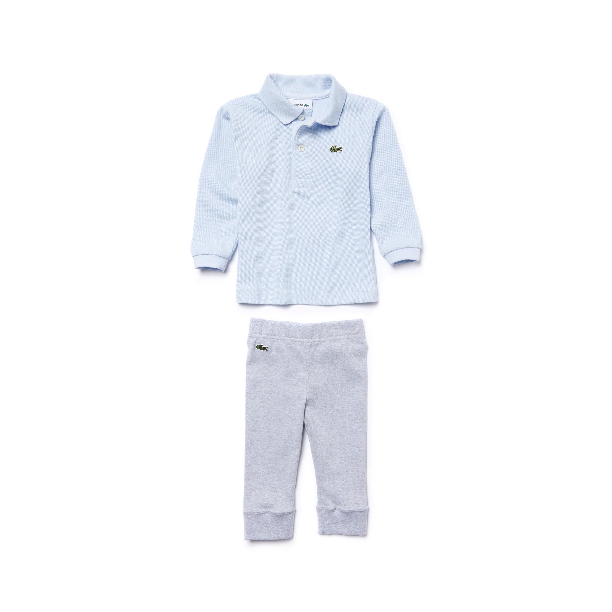 Купить Детский спортивный костюм Lacoste, голубой, 4J7442