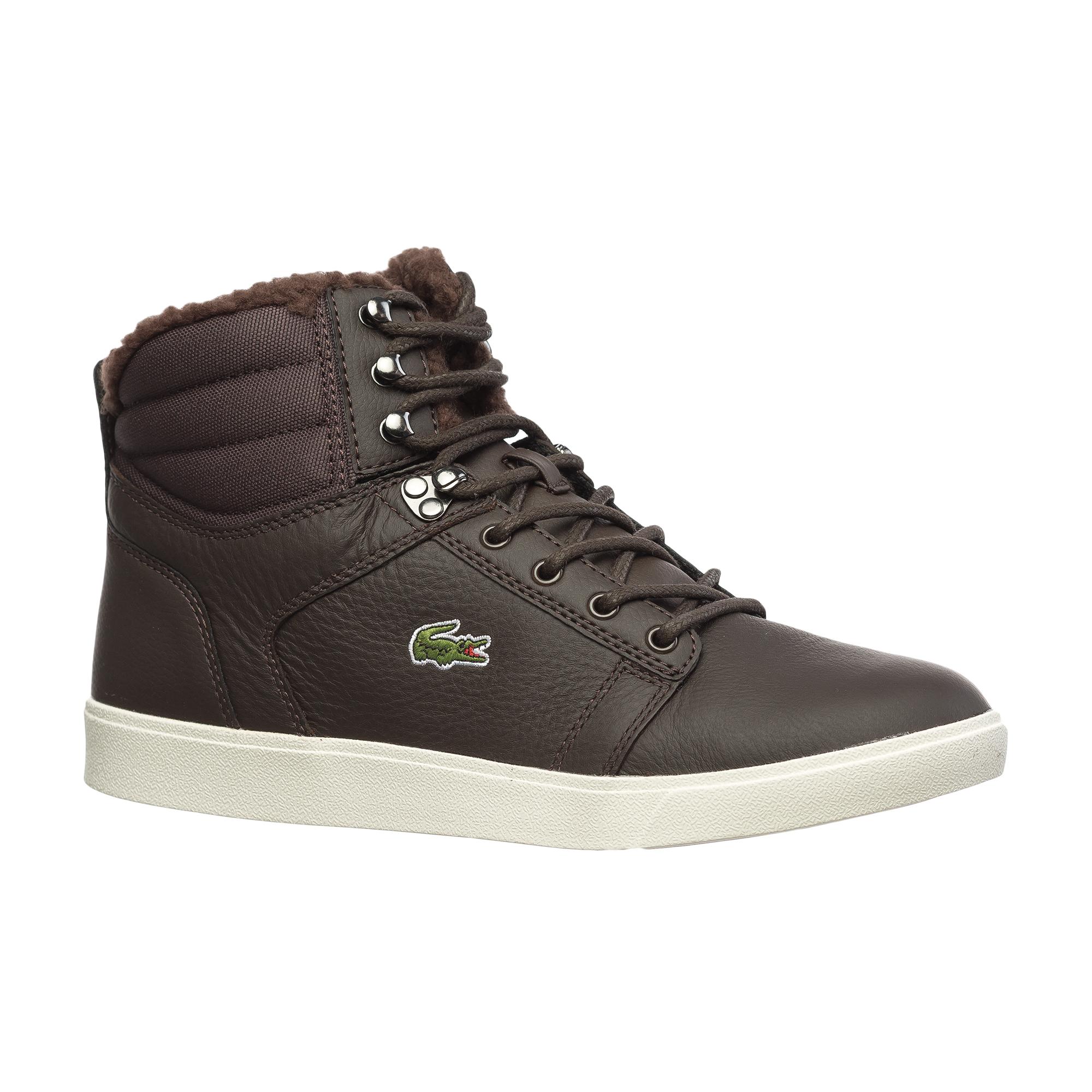 Ботинки  коричневый цвета