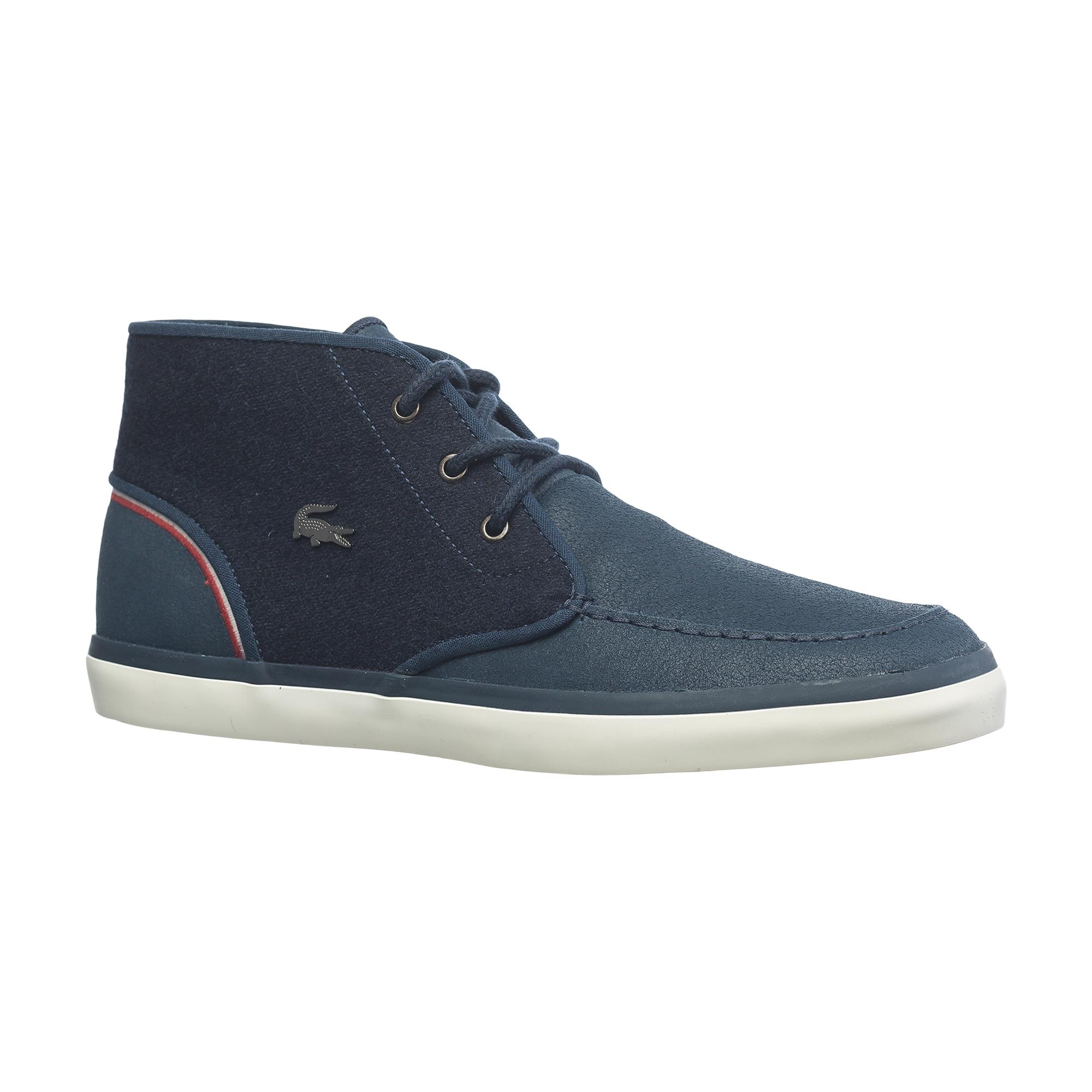 Ботинки  темно-синий цвета