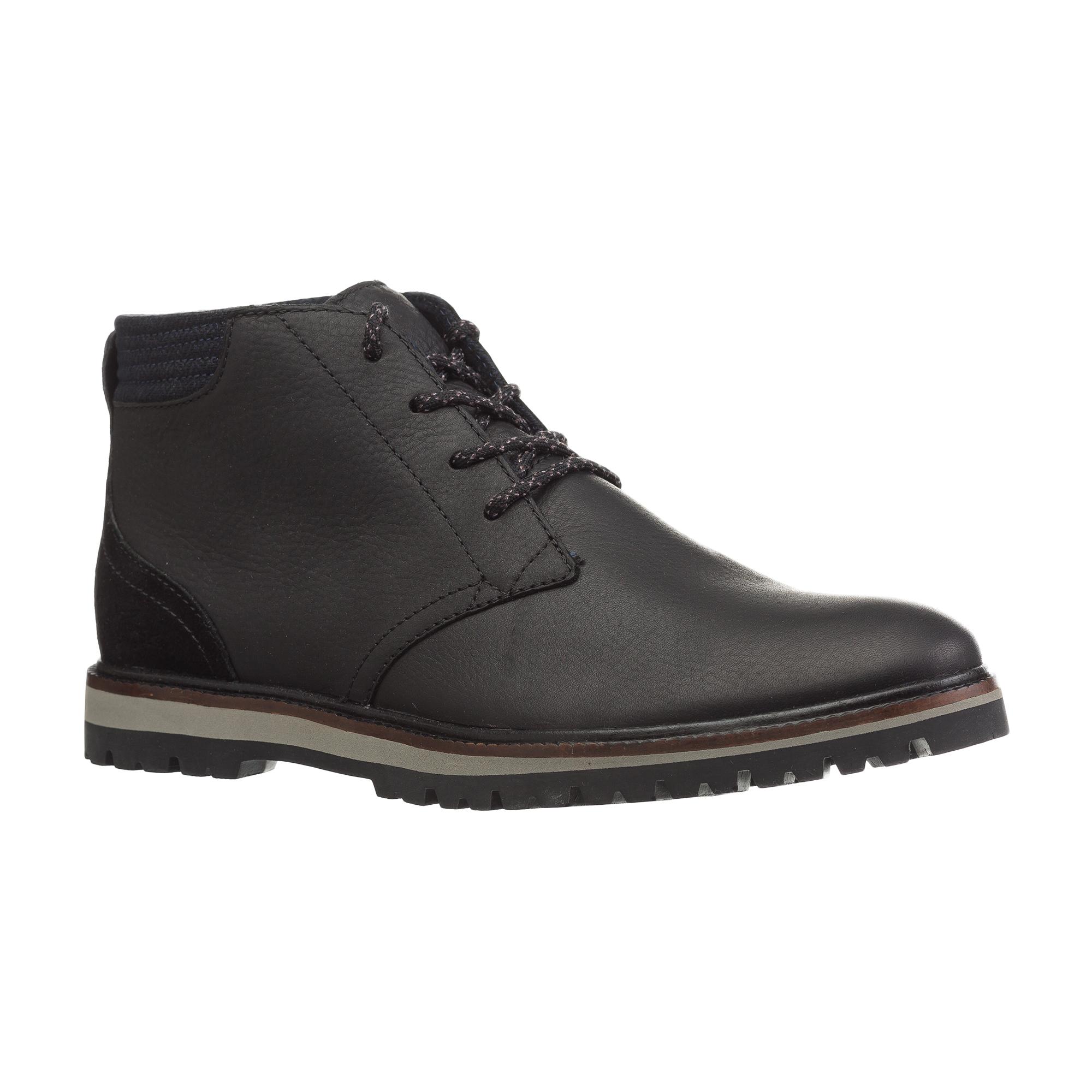 Ботинки  черный цвета