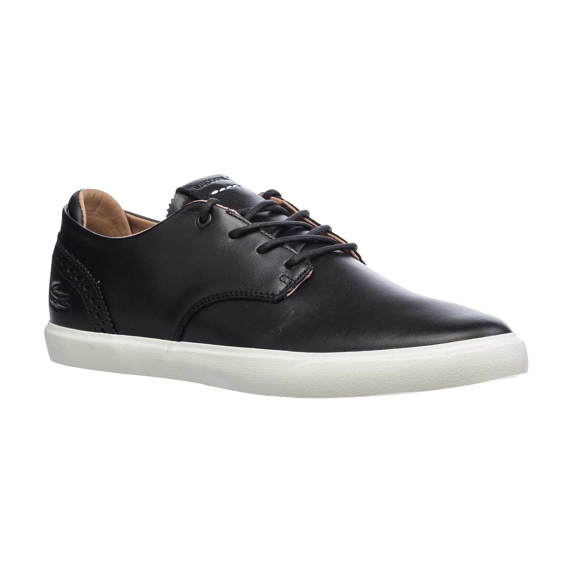 мужские ботинки lacoste, черные