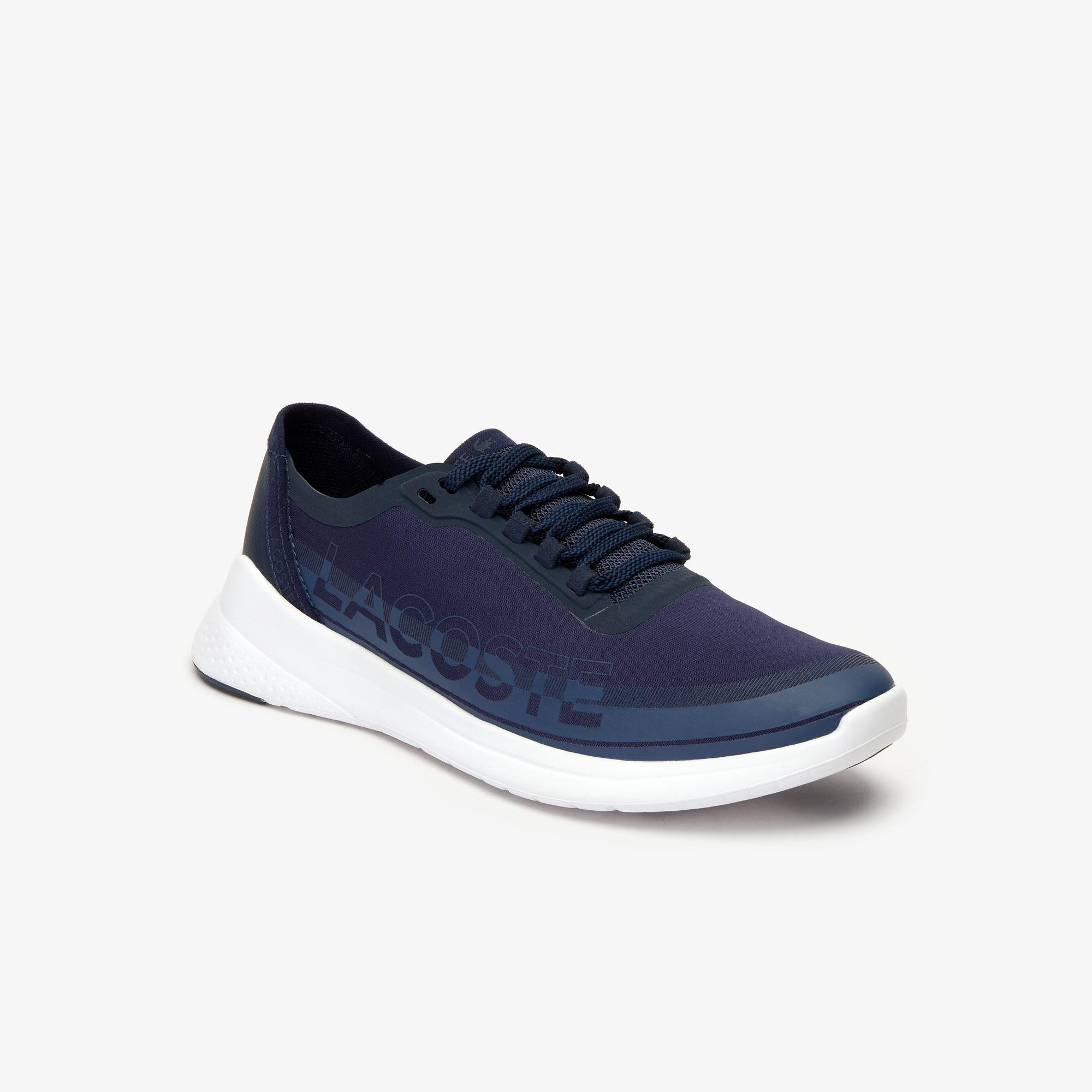 женские кроссовки lacoste, синие