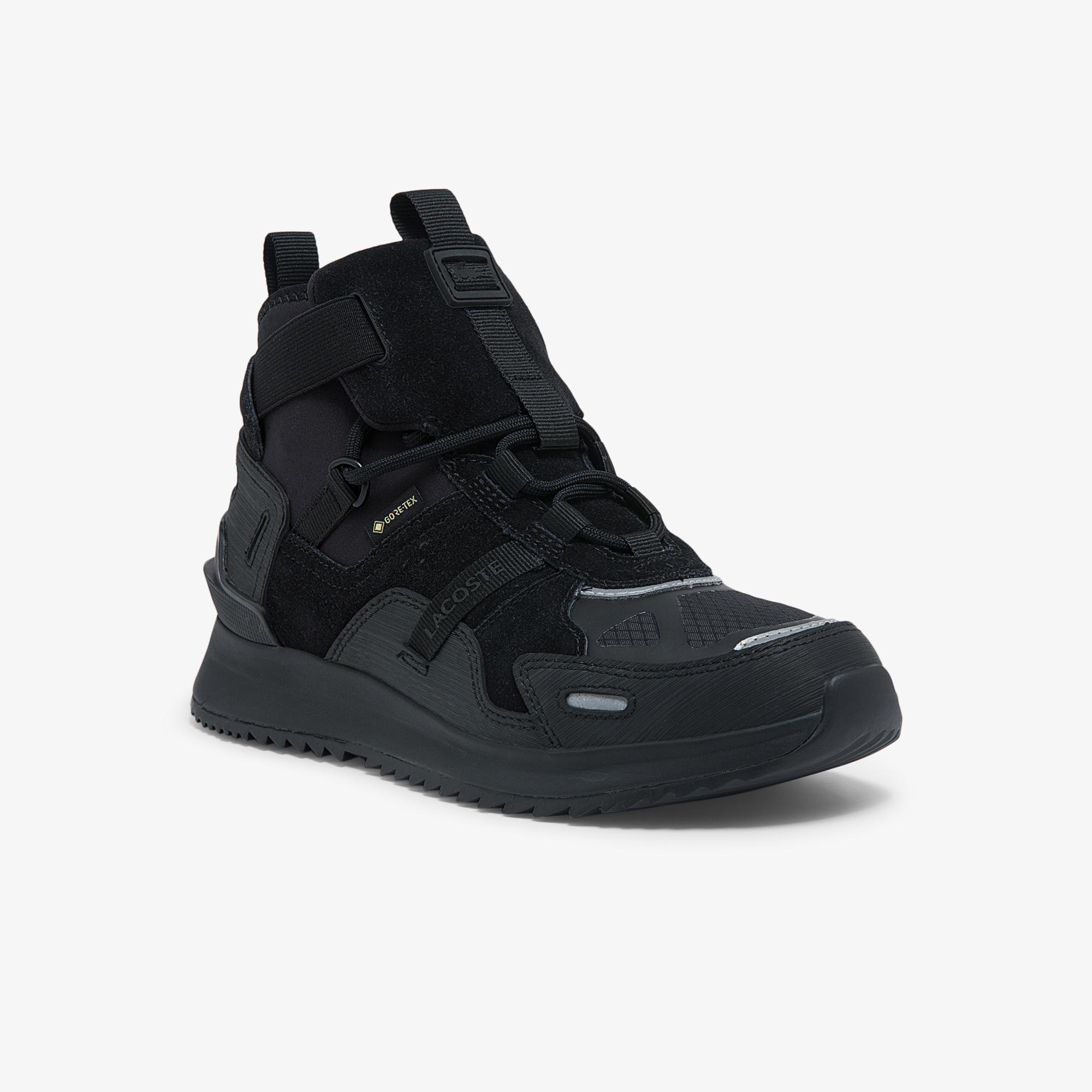 женские кроссовки lacoste, черные