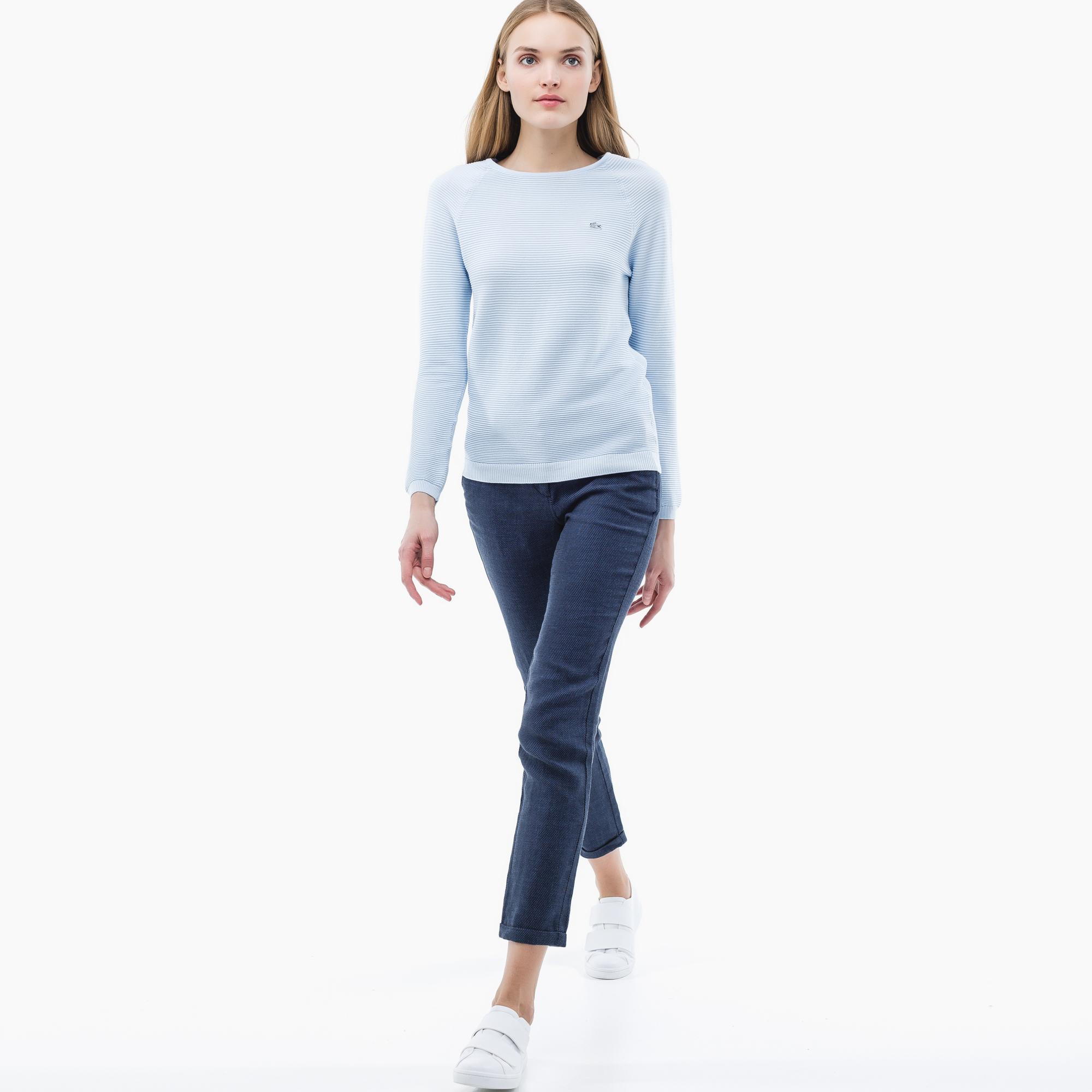 Свитер LacosteСвитеры<br>Детали: женский свитер из хлопка  \ Материал: 100% хлопок \ Страна производства: Турция