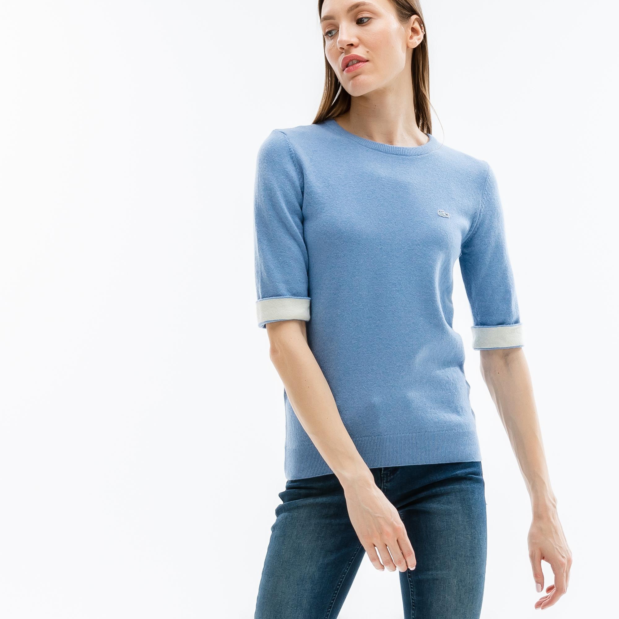 мужской свитер lacoste, голубой