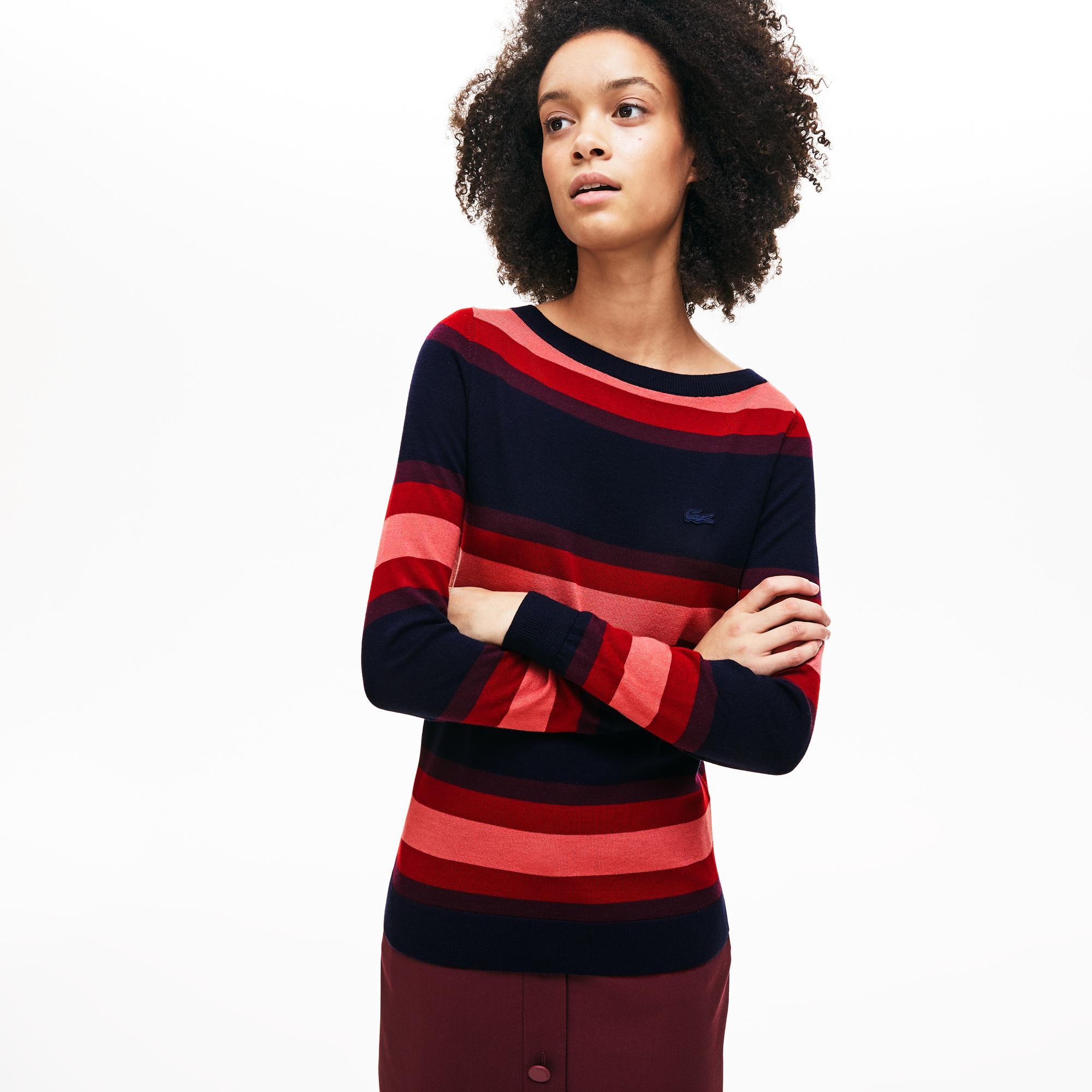 женский свитер lacoste, синий