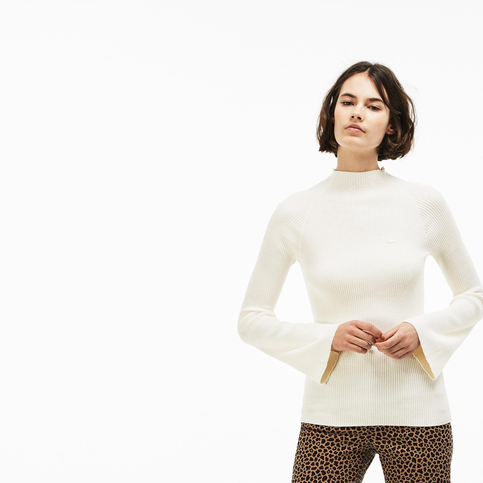 женский свитер lacoste