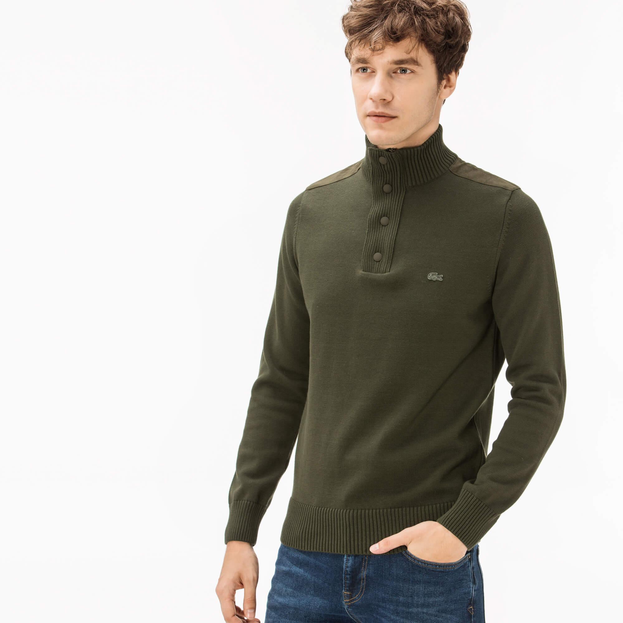 Фото 2 - Мужской свитер Lacoste зеленого цвета