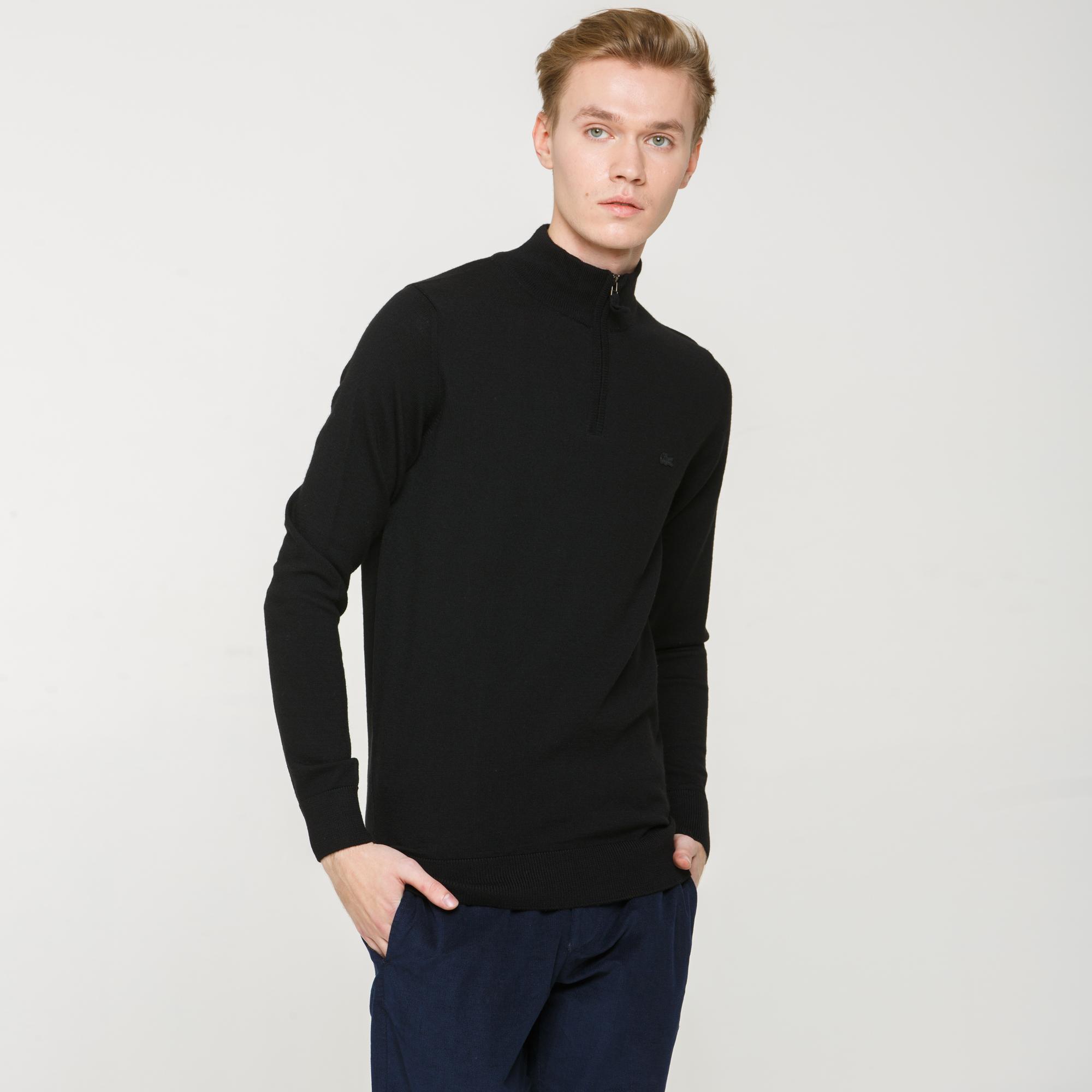 Свитер LacosteСвитеры<br>Детали: классический свитер из натуральной шерсти \ Материал: 100% шерсть \ Страна производства: Турция