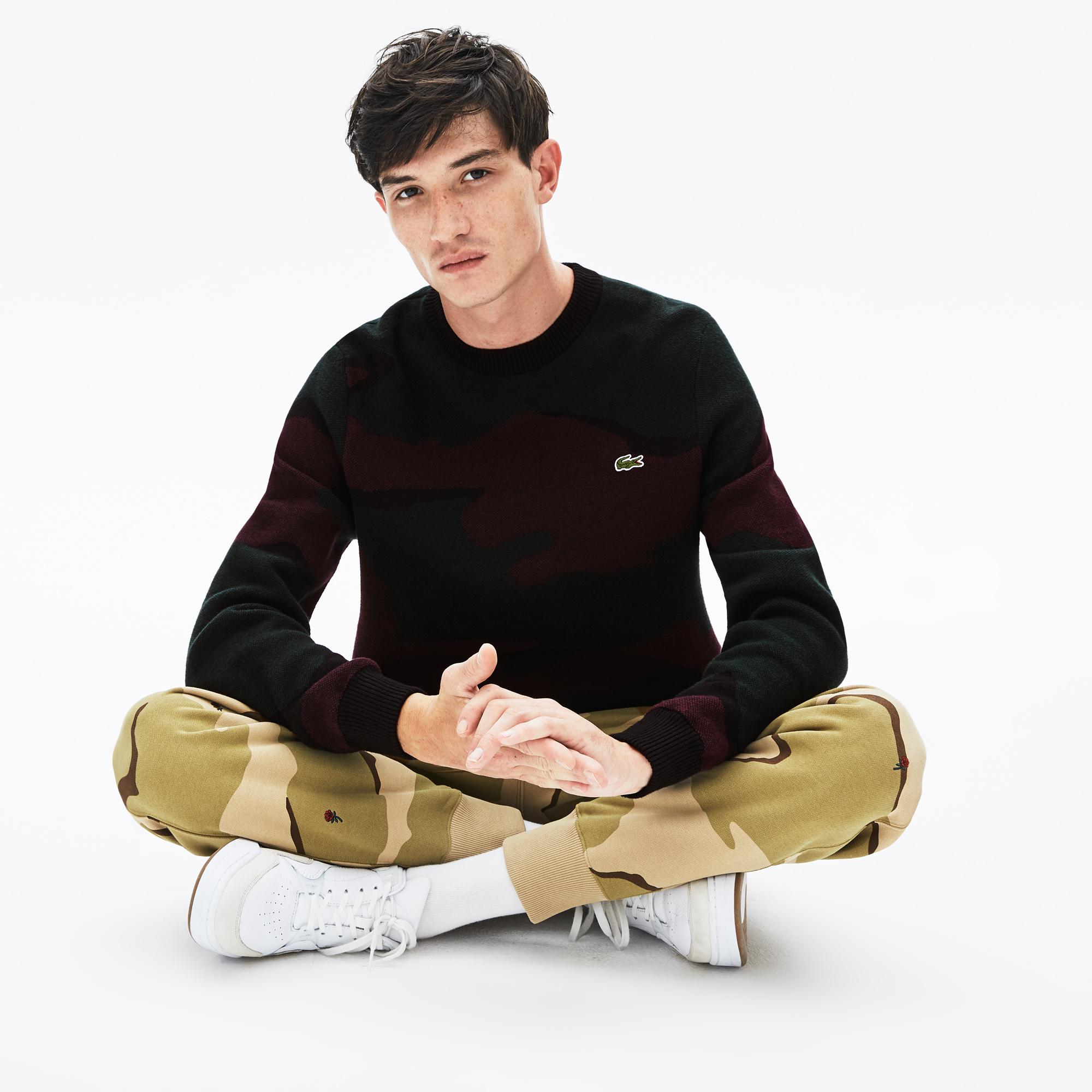 мужской свитер lacoste