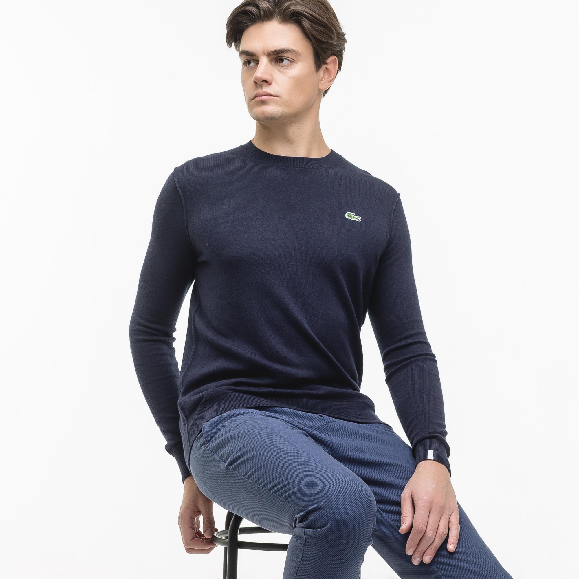 мужской пуловер lacoste
