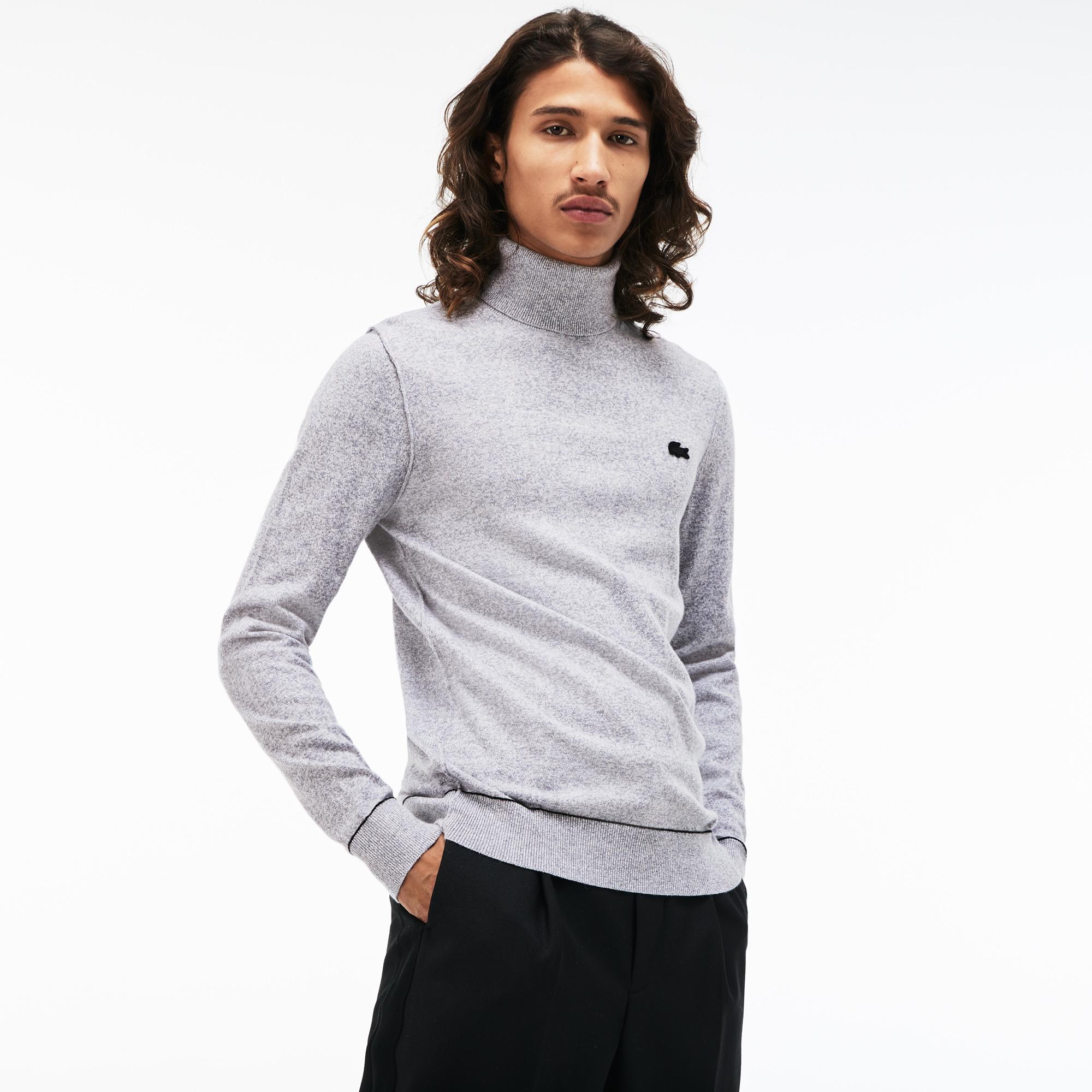 мужской свитер lacoste, серый