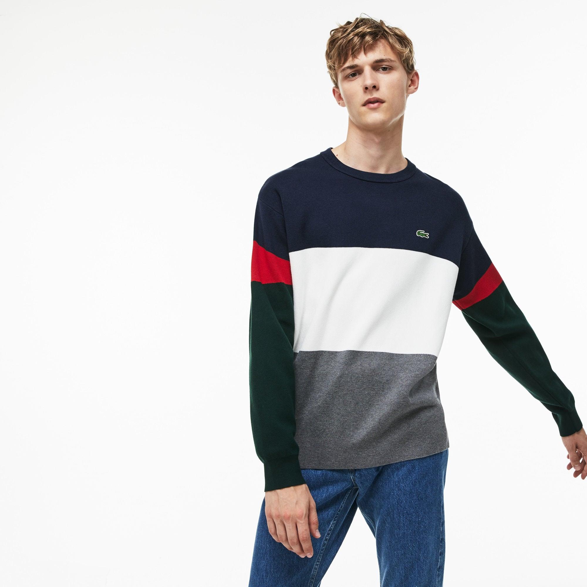 мужской свитер lacoste, синий