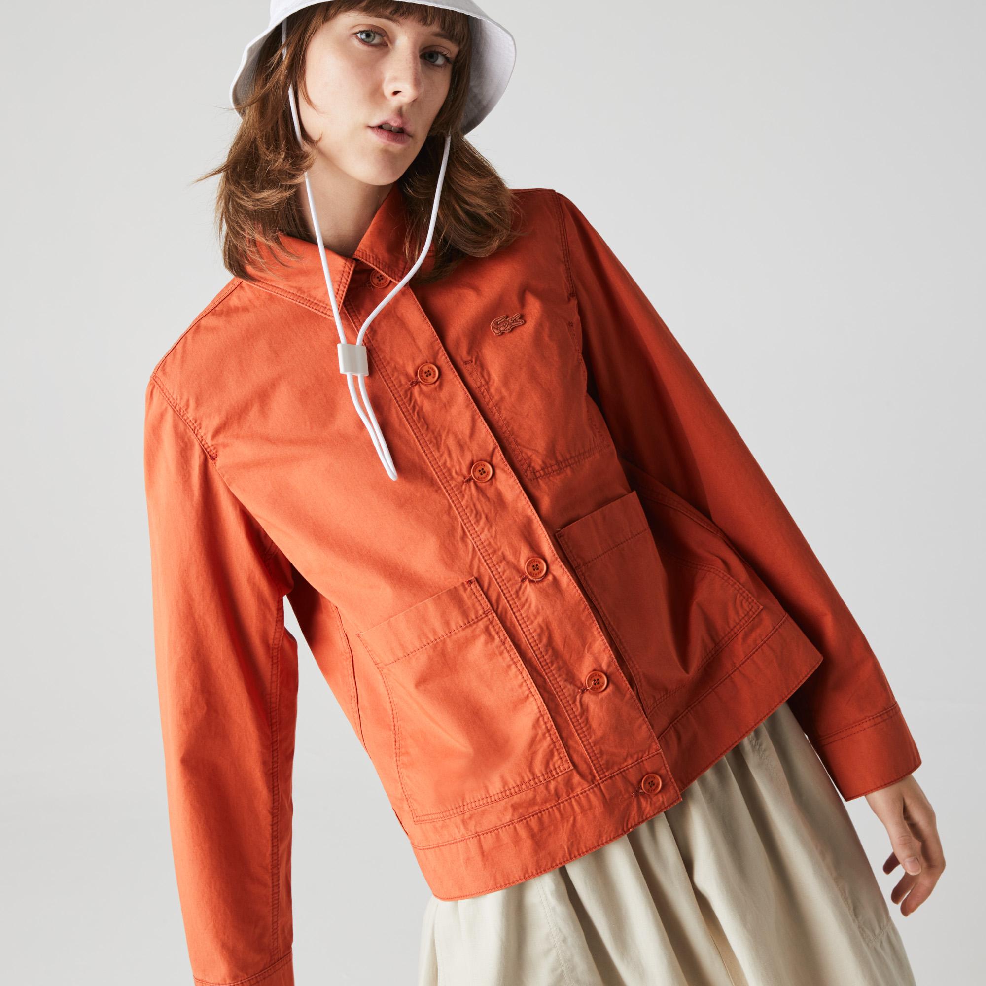женская куртка lacoste