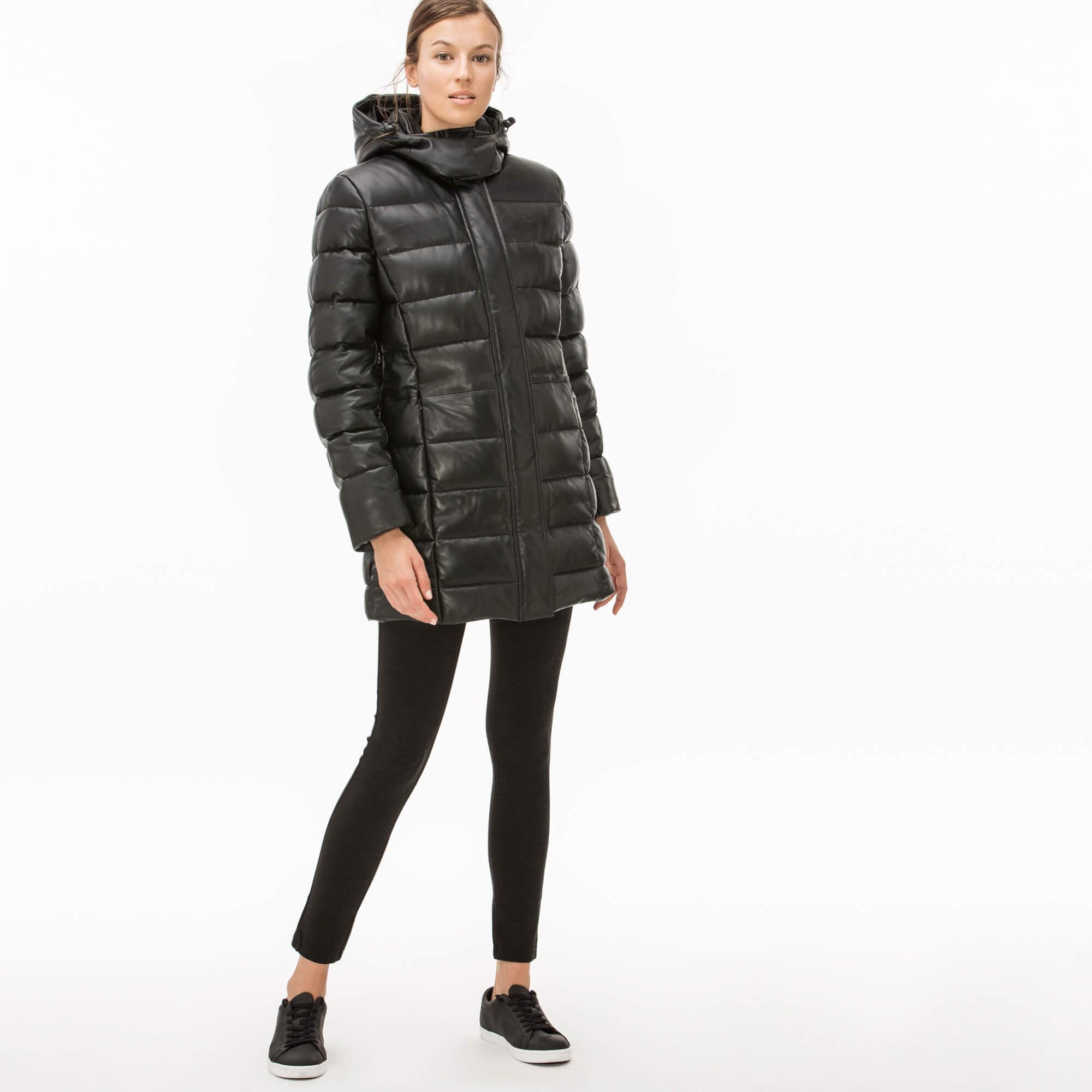 женская куртка lacoste, серая