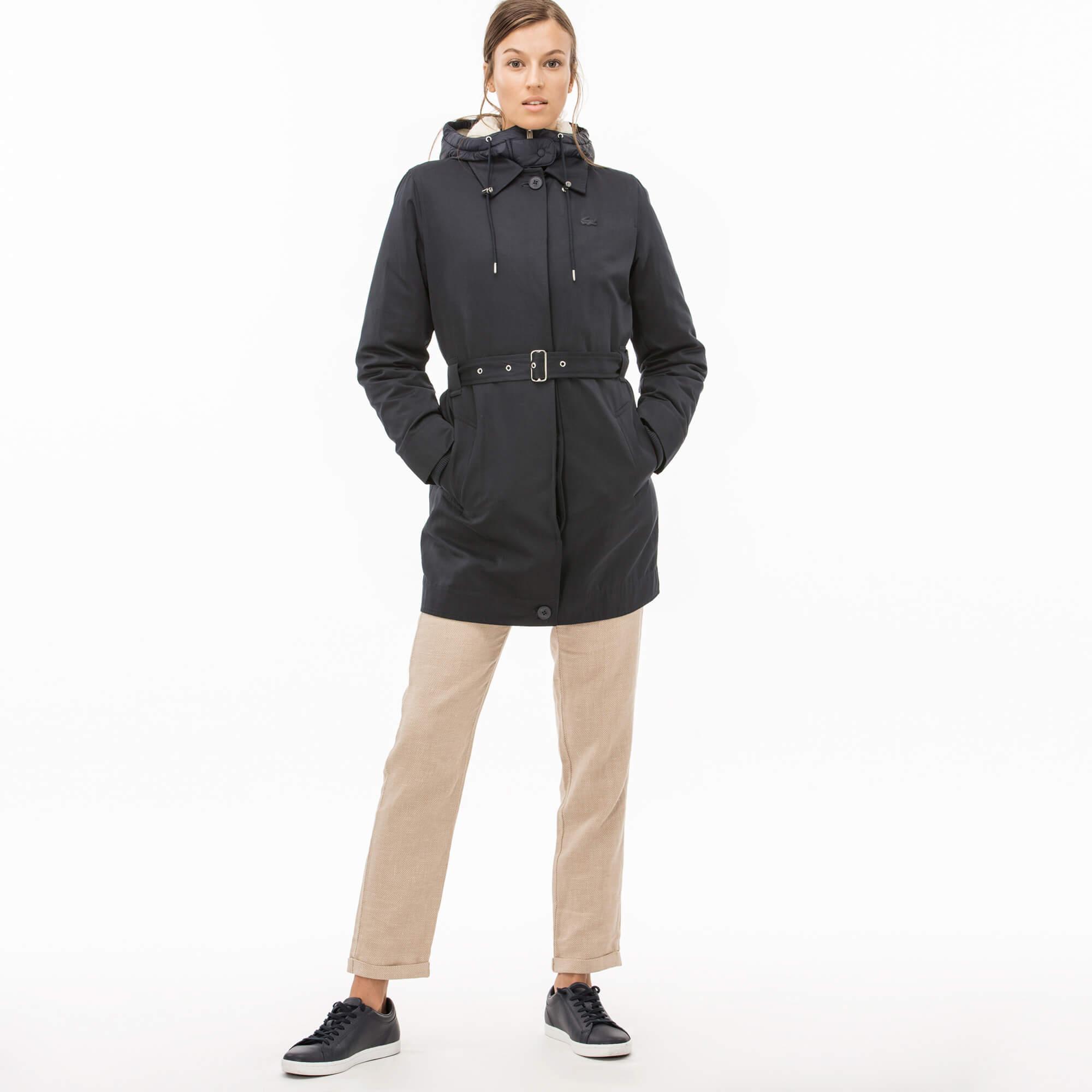 Куртка LacosteВерхняя одежда<br>Детали: 3 в 1: тренч, куртка, парка с подкладкой\Материал: 60% хлопок 40% полиэстер 60% полиэстер 40% акрил