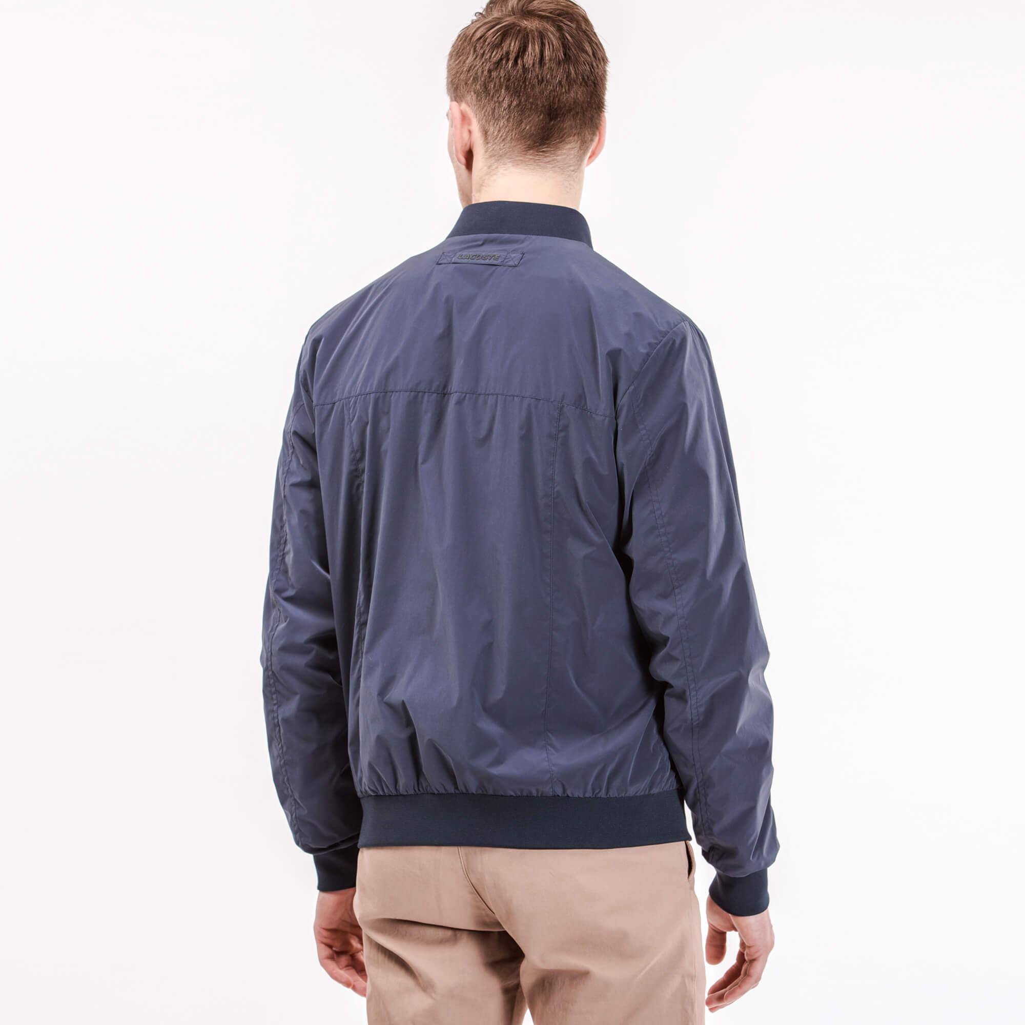 Куртка синего цвета Lacoste за 13 150 руб. купить в интернет-магазине bd575fb732e