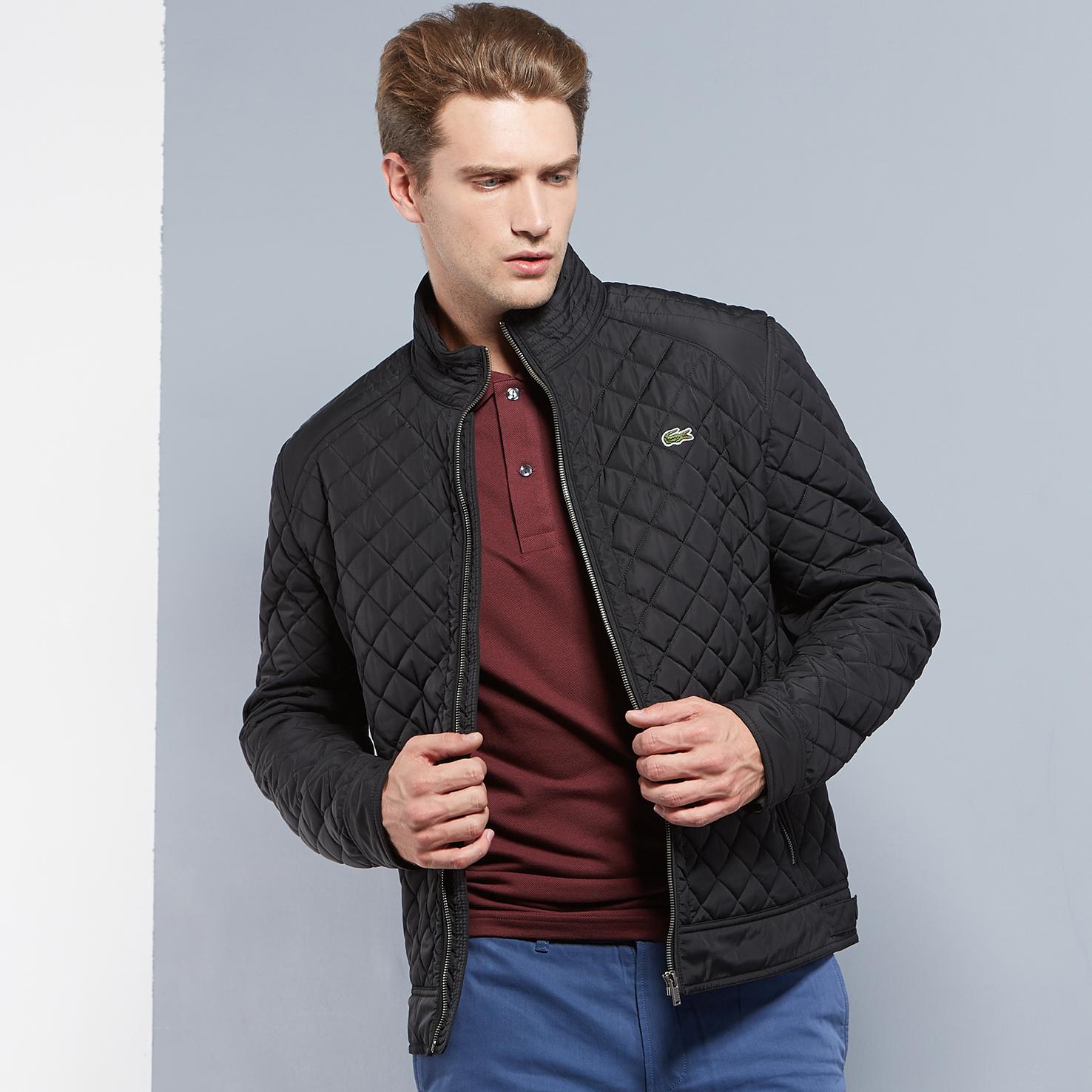 Куртка черного цвета Lacoste за 11 450 руб. купить в интернет-магазине d5c95074070