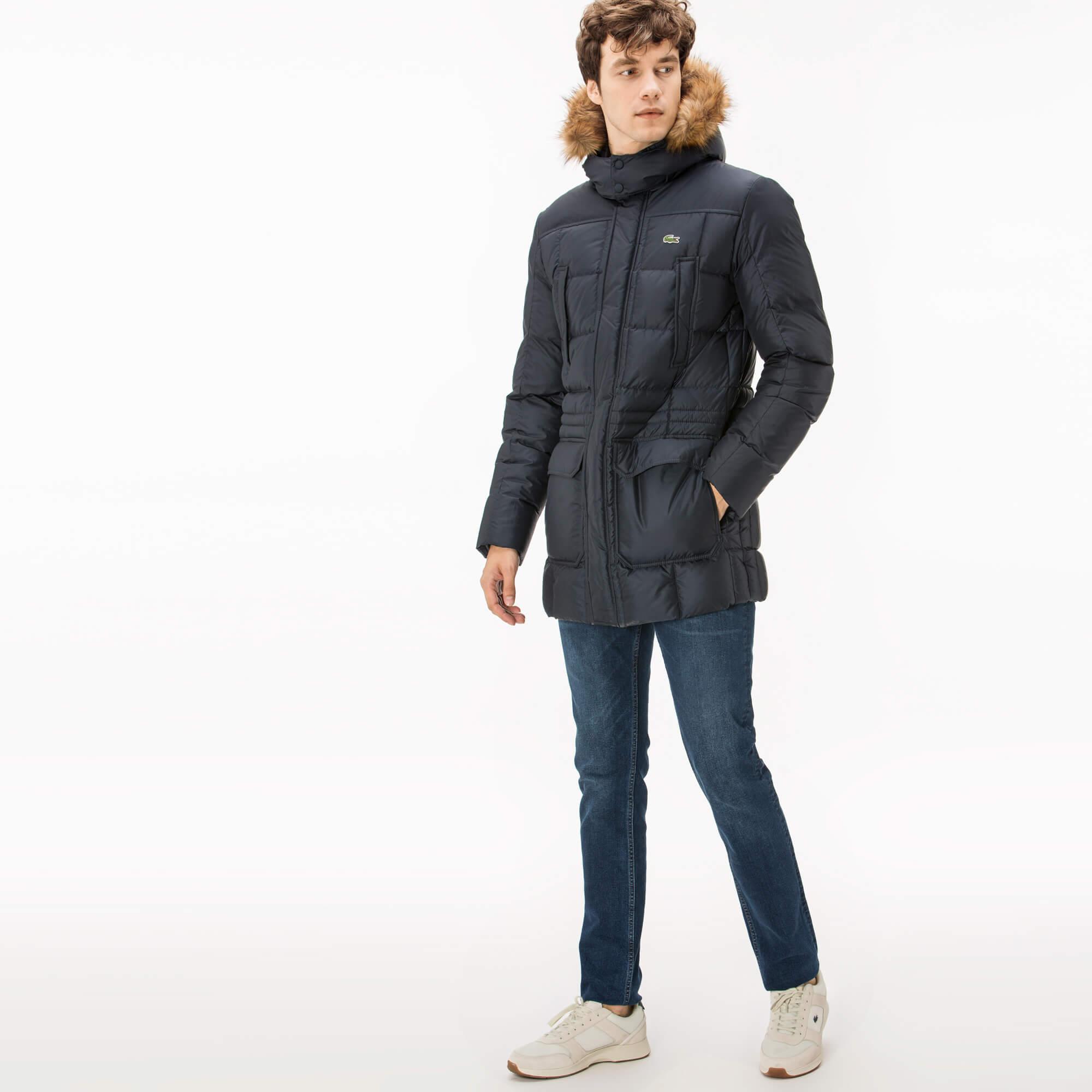 Куртка синего цвета Lacoste за 34 900 руб. купить в интернет-магазине 959839eb7c1