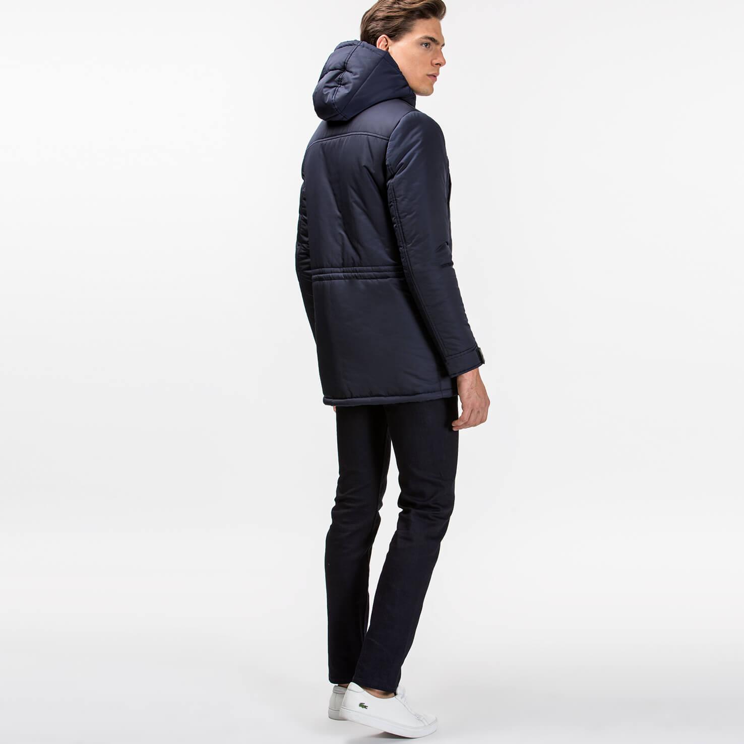 Куртка темно-синего цвета Lacoste за 18 765 руб. купить в интернет ... 33f7ce1bf82