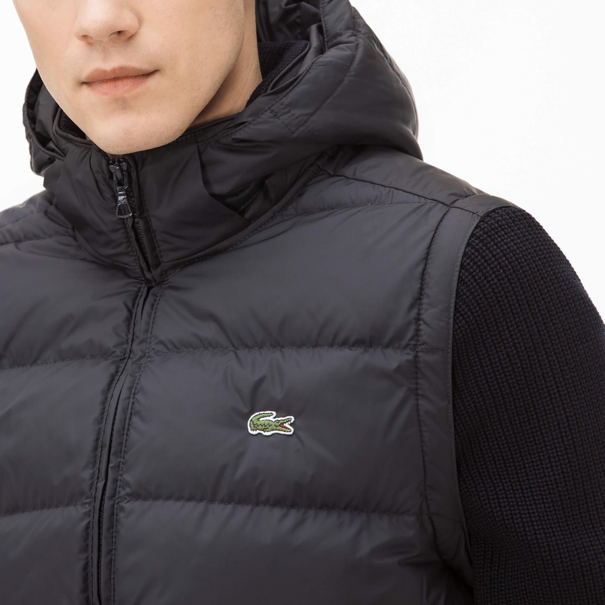 Куртка синего цвета Lacoste за 20 930 руб. купить в интернет-магазине 6a6c42ef85f