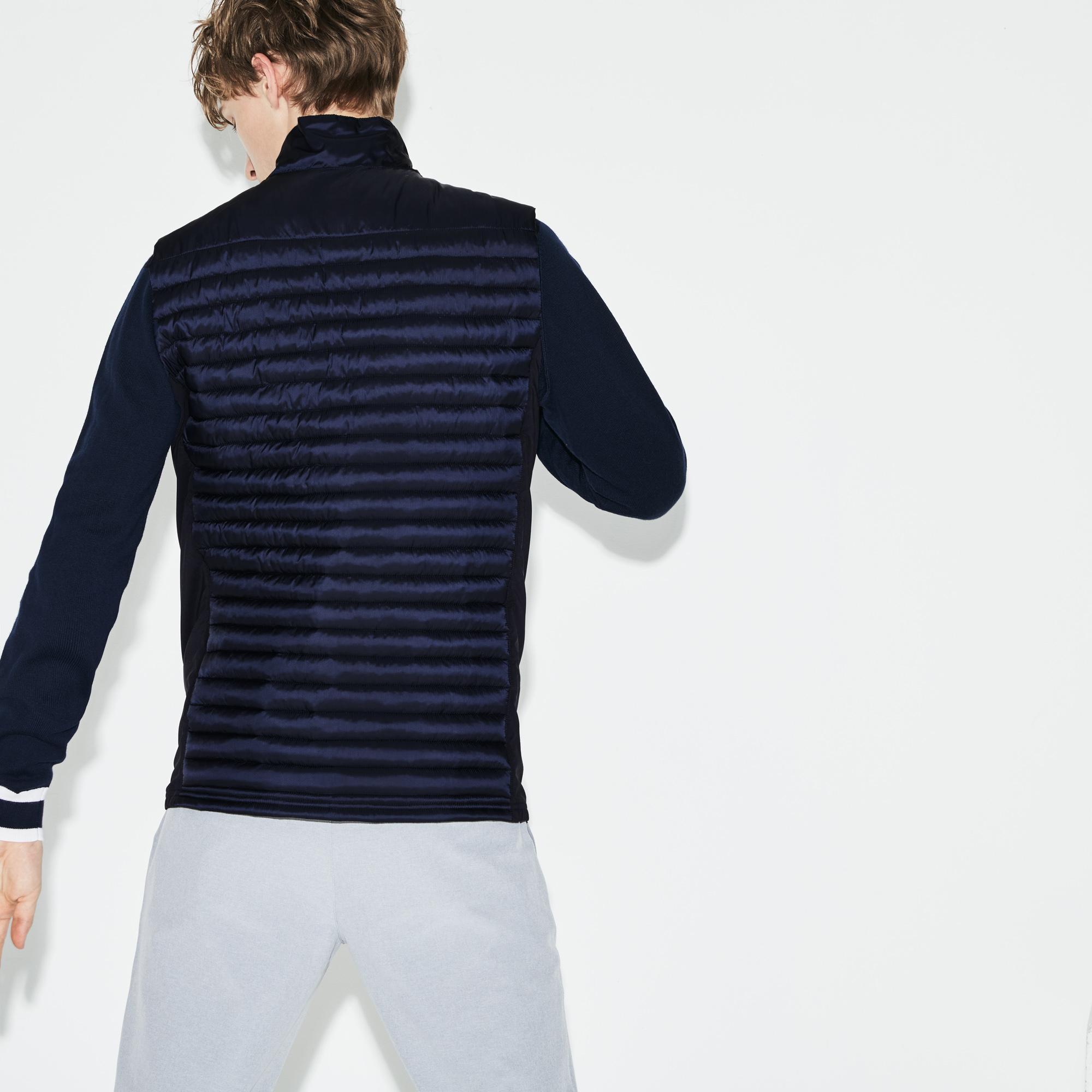 Куртка темно-синего цвета Lacoste за 6 986 руб. купить в интернет ... 6920d17188c
