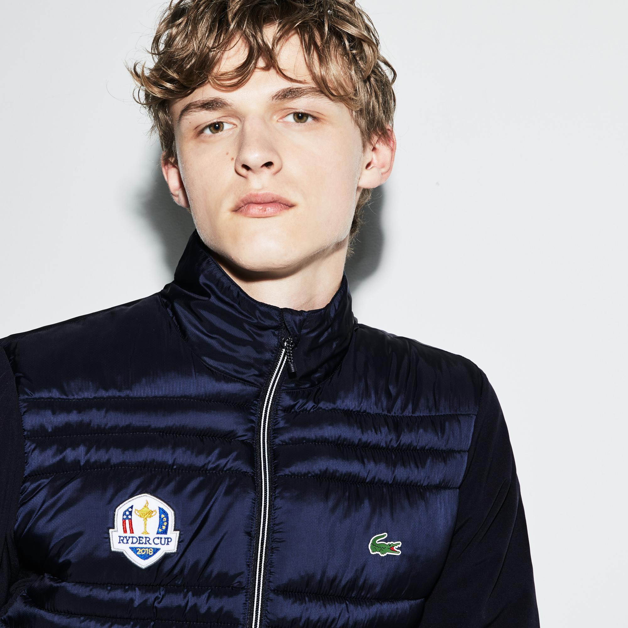Куртка темно-синего цвета Lacoste за 9 086 руб. купить в интернет ... cf36c99c033