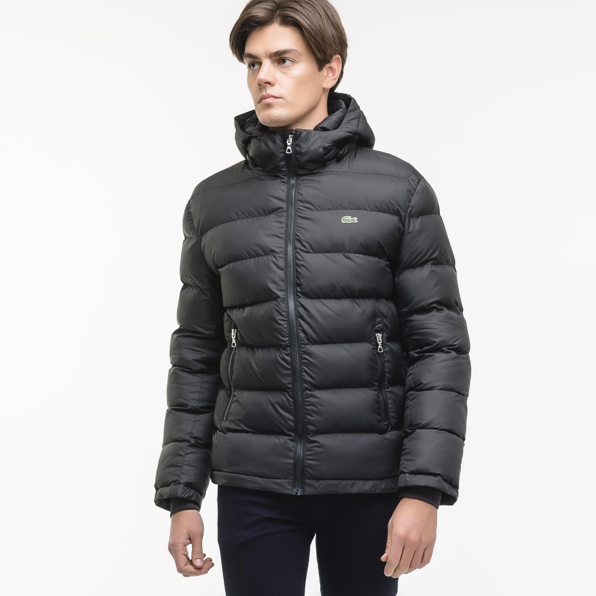 Куртка черного цвета Lacoste за 16 030 руб. купить в интернет-магазине 466a4912dcd