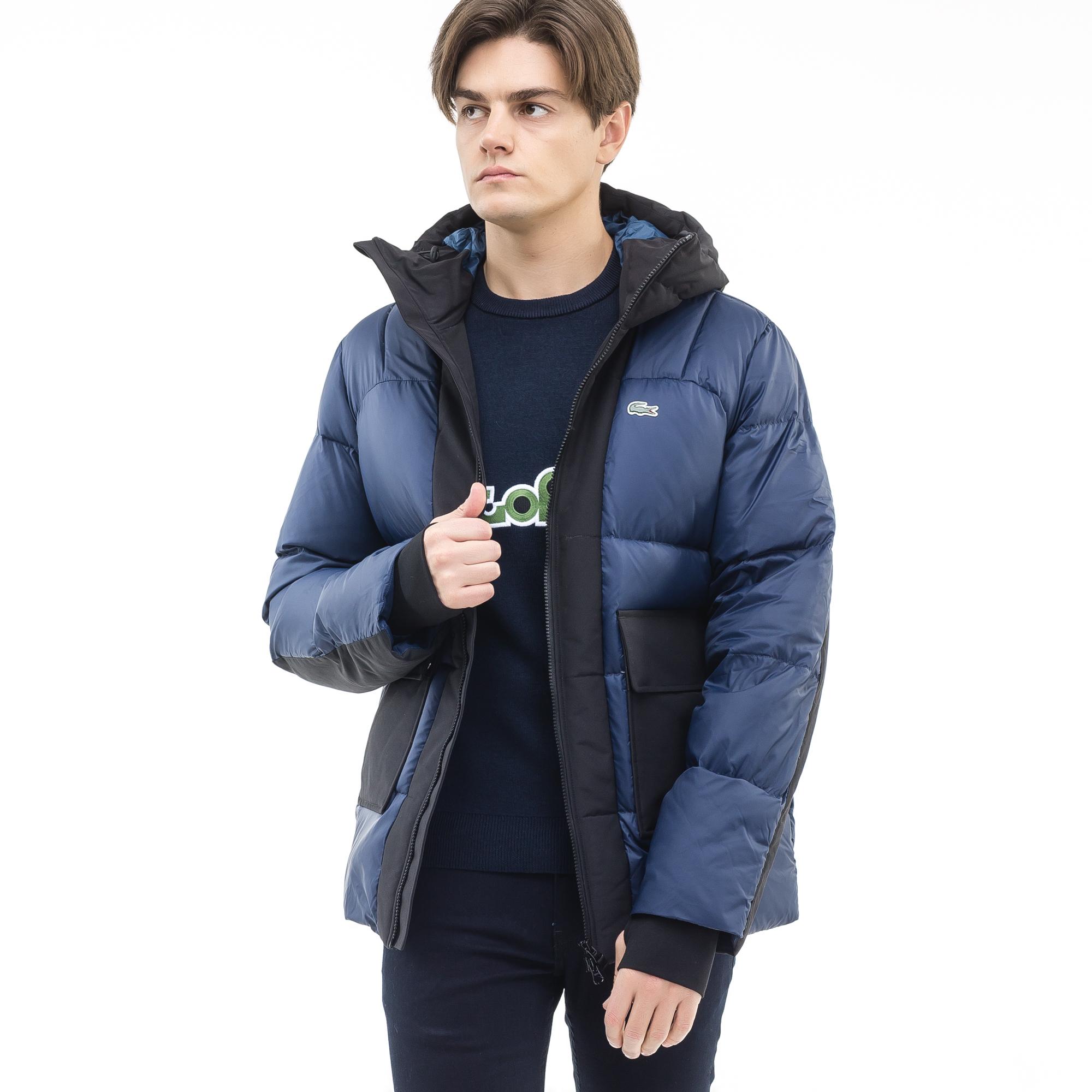Куртка LacosteВерхняя одежда<br>100%полиамид/67%вискоза29%полиамид 4%эластан/100%полиэстер/70%пух 30%перо