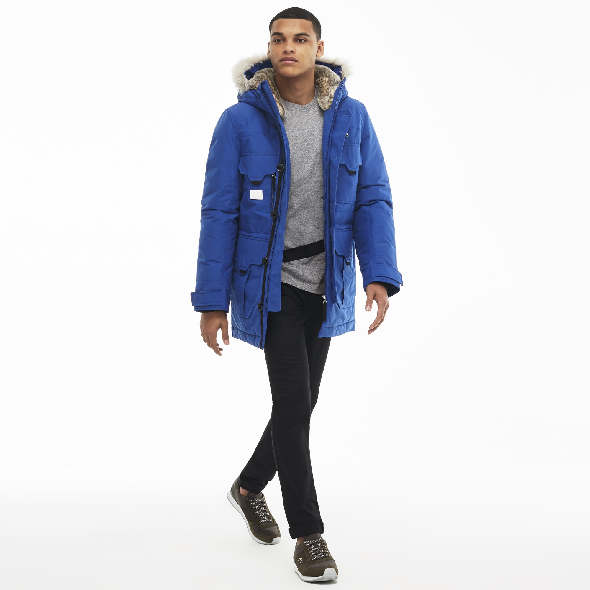 Куртка LacosteВерхняя одежда<br>100%полиэстер/100%полиамид/67%вискоза29%полиамид 4%эластан/82% акрилин 18%полиэстер/35акрилин 35%модакрил 30%полиэстер/70%пух 30%перо