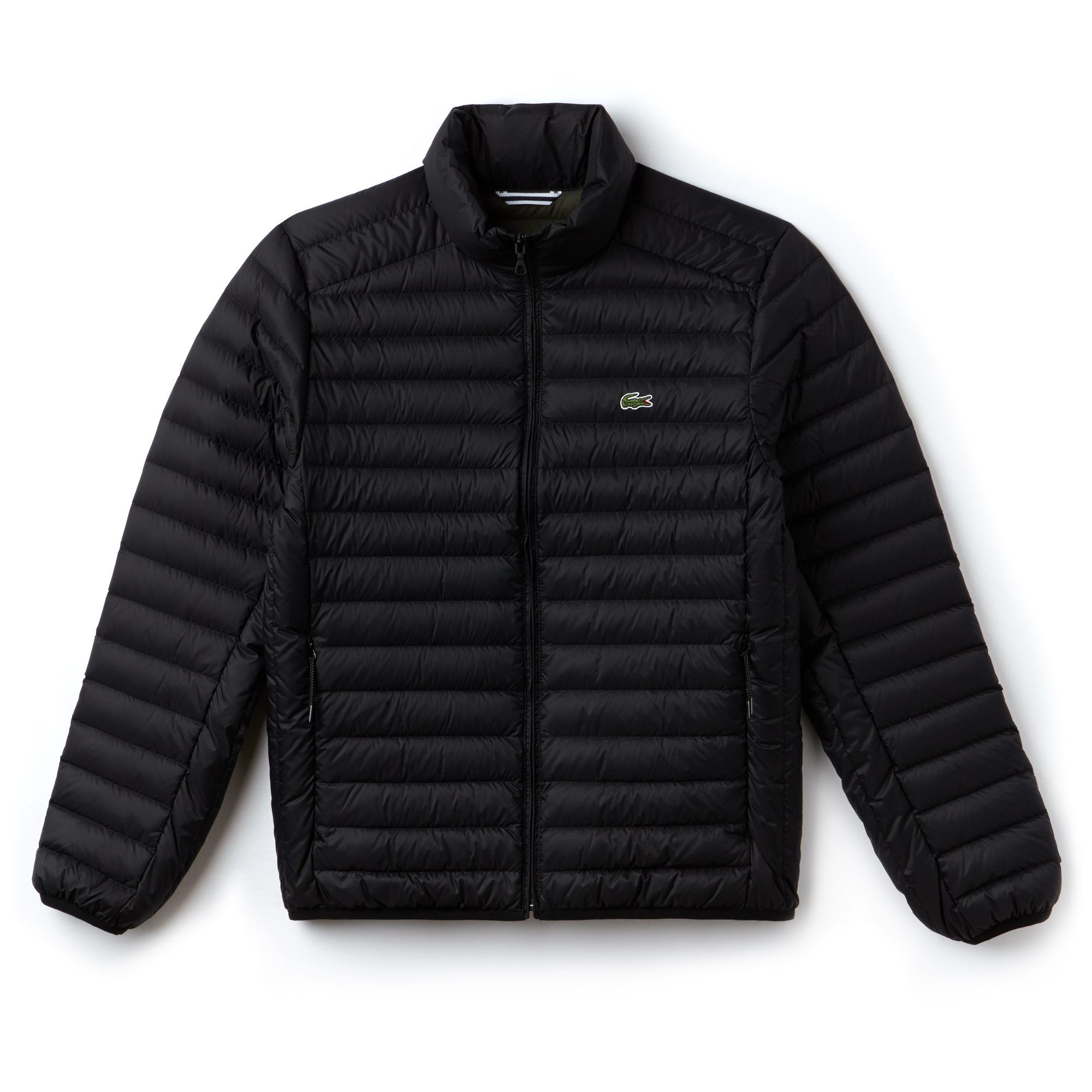 Куртка черного цвета Lacoste за 17 350 руб. купить в интернет-магазине d02ff04873d