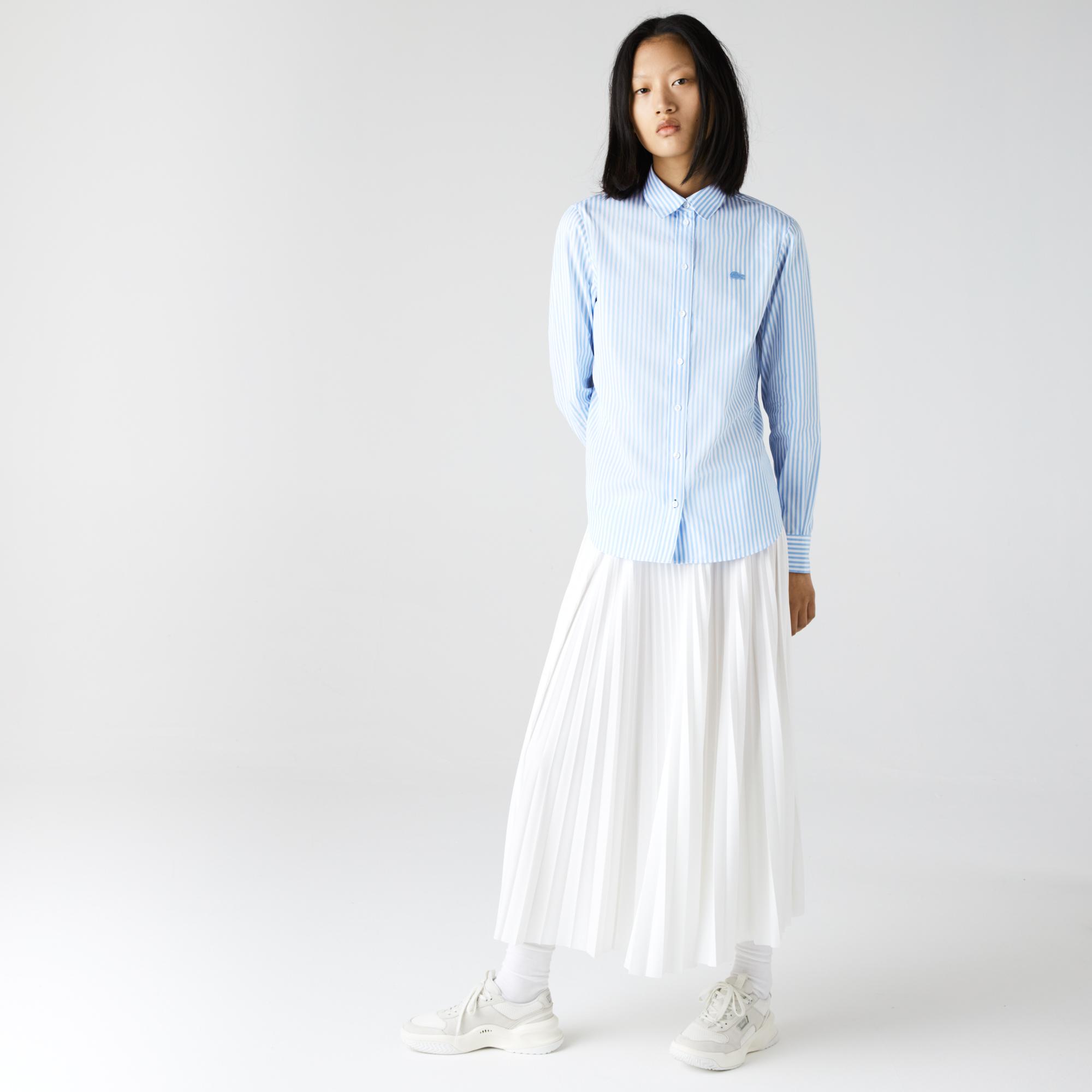 женская рубашка lacoste