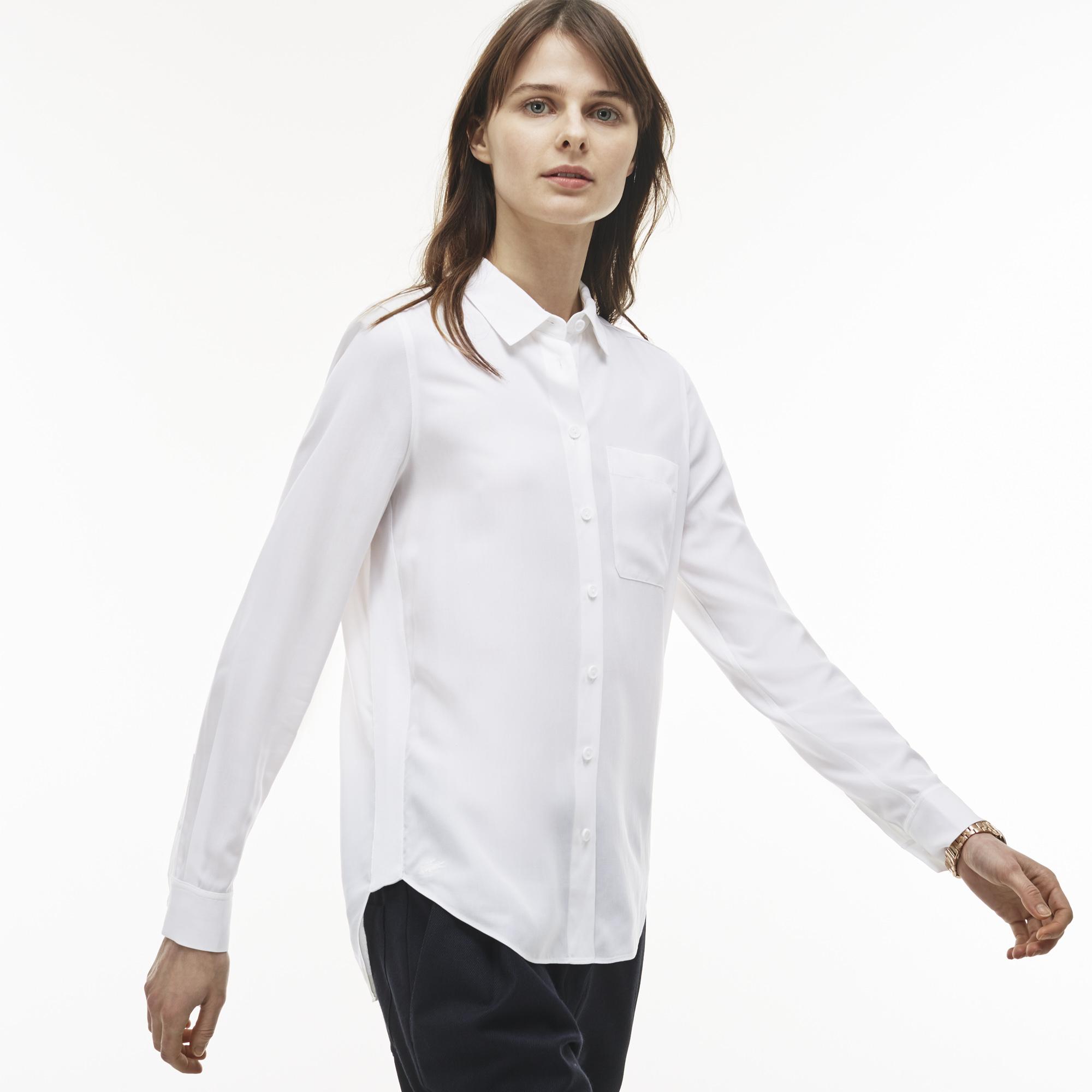 Купить со скидкой Рубашка Lacoste Loose fit