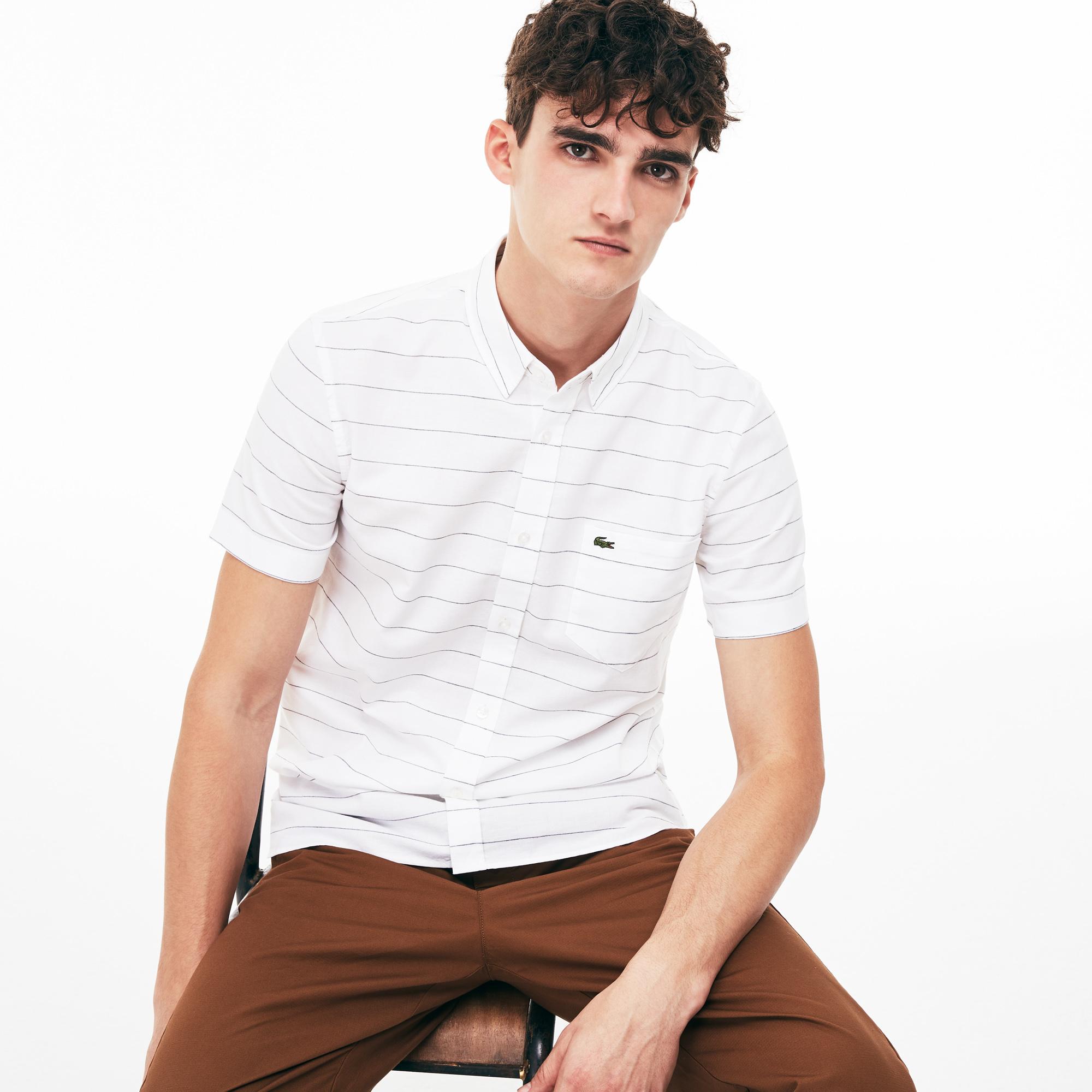 Рубашка Lacoste Slim fit фото