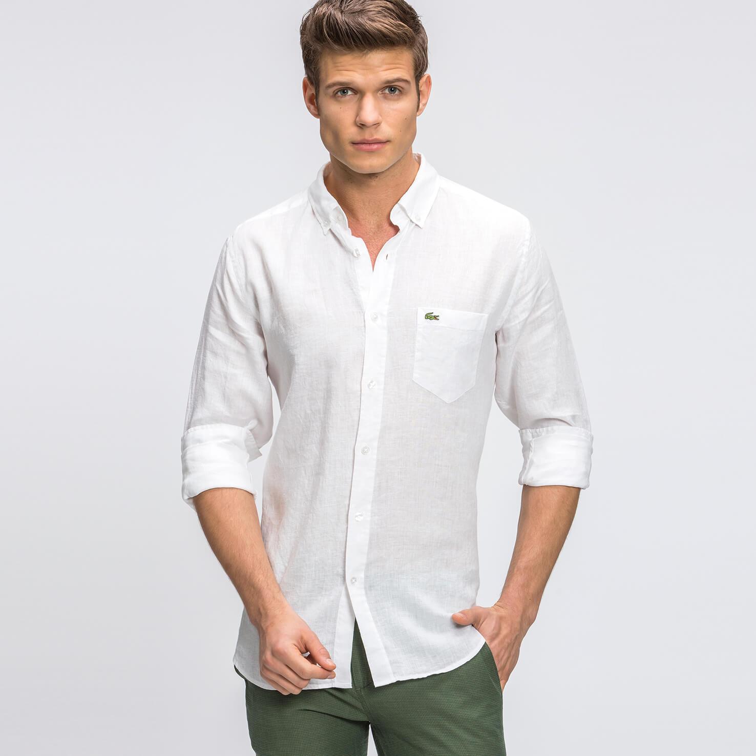 Купить со скидкой Рубашка Lacoste Regular fit