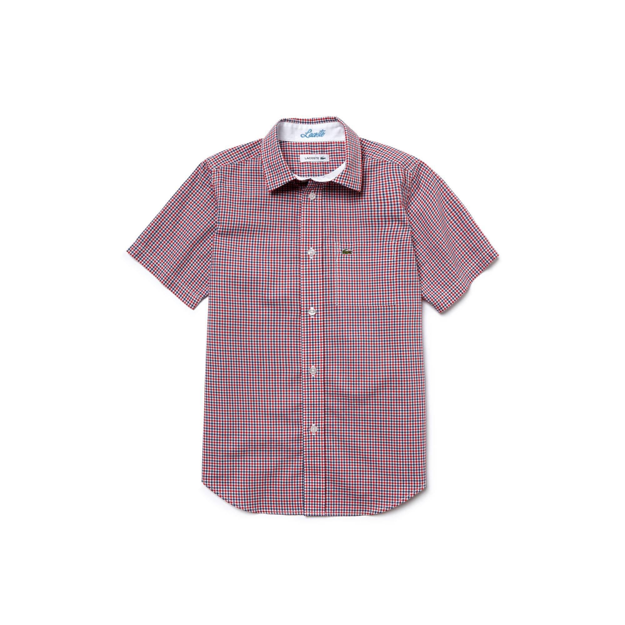 Рубашка LacosteДетское<br>100%хлопок