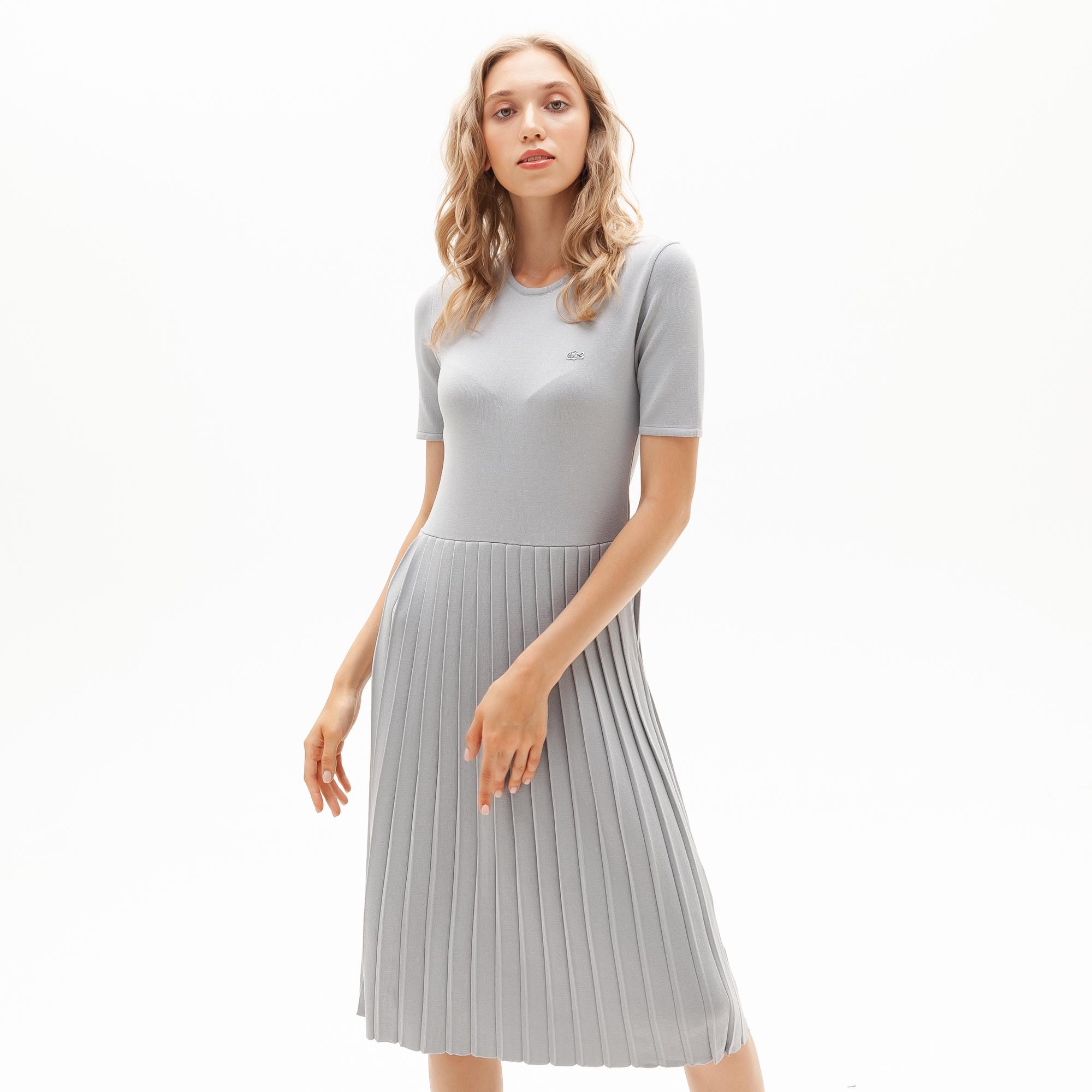 женское платье lacoste, серое