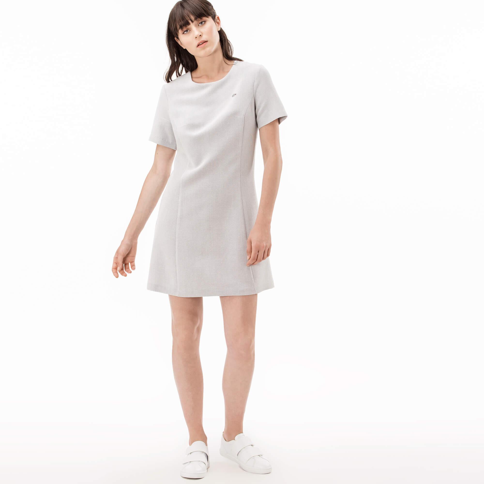 Платье LacosteПлатья и юбки<br>80% модал 20% полиэстер