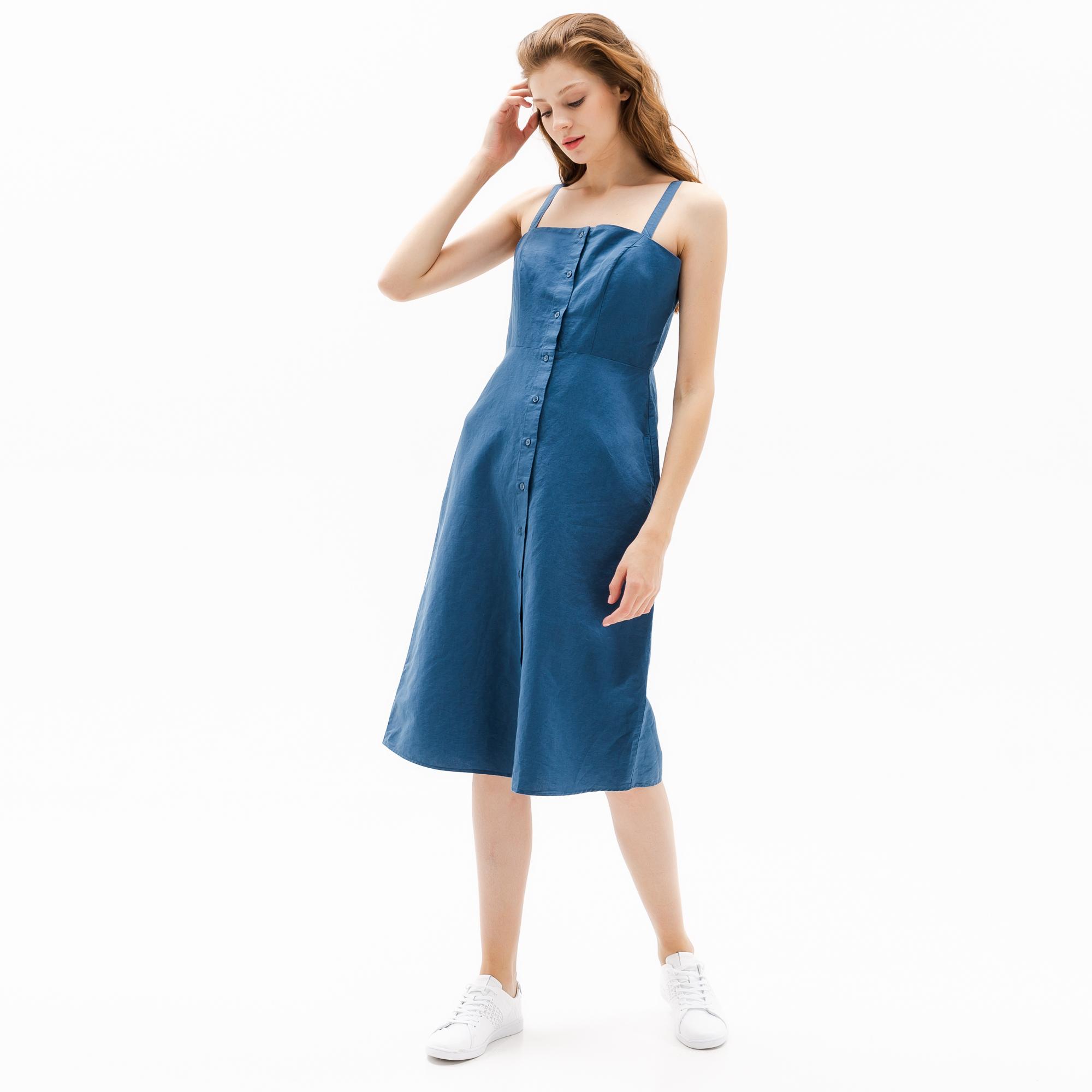 женская юбка lacoste, голубая