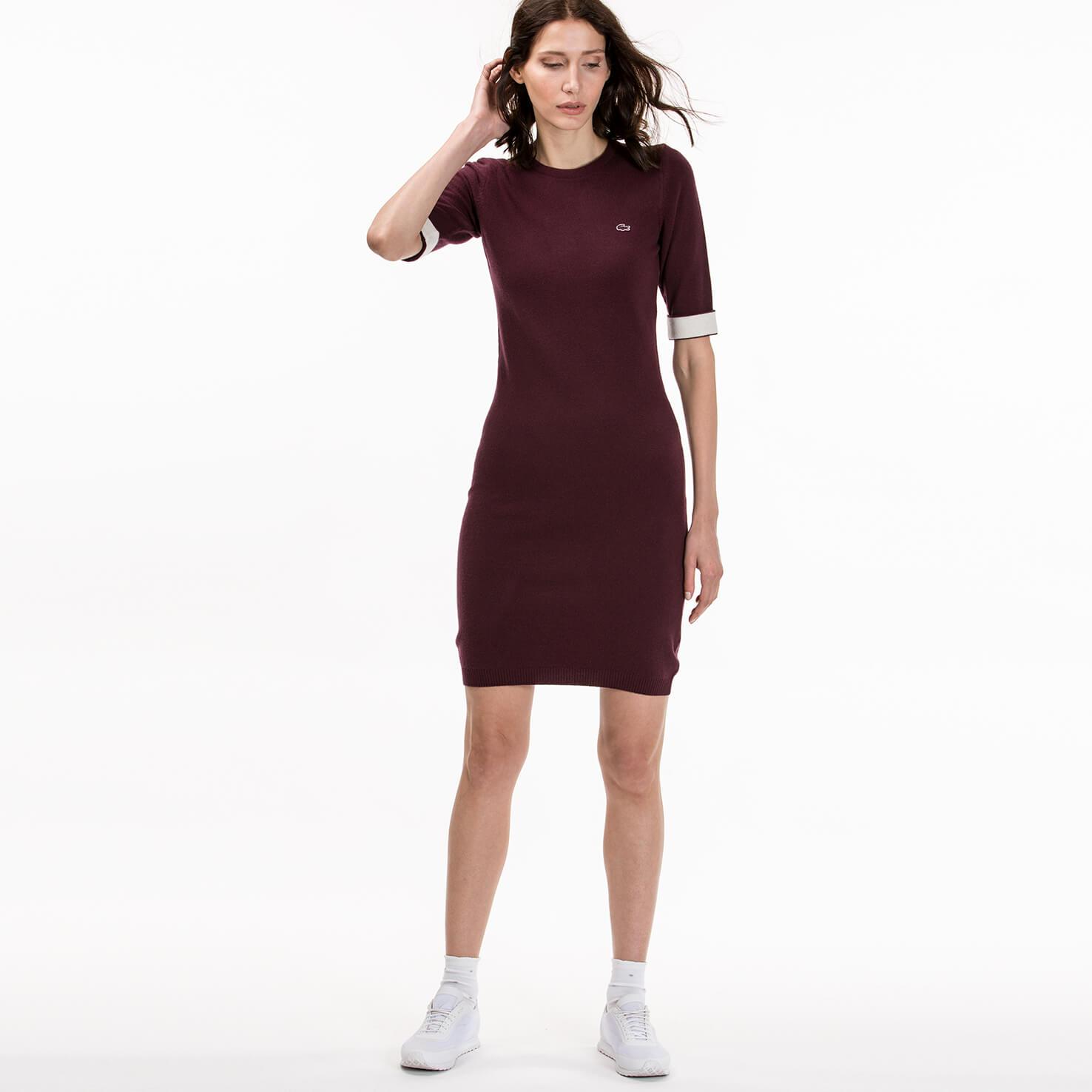 Купить Платье Lacoste, бордовый, EF1825