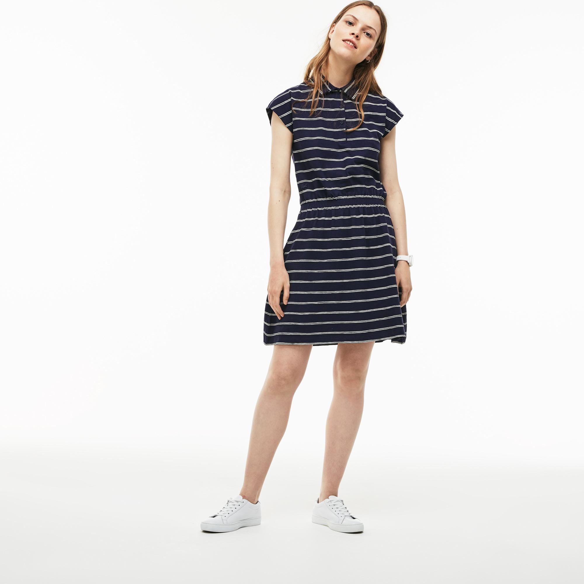 Фото - Женское платье Lacoste темно-синего цвета