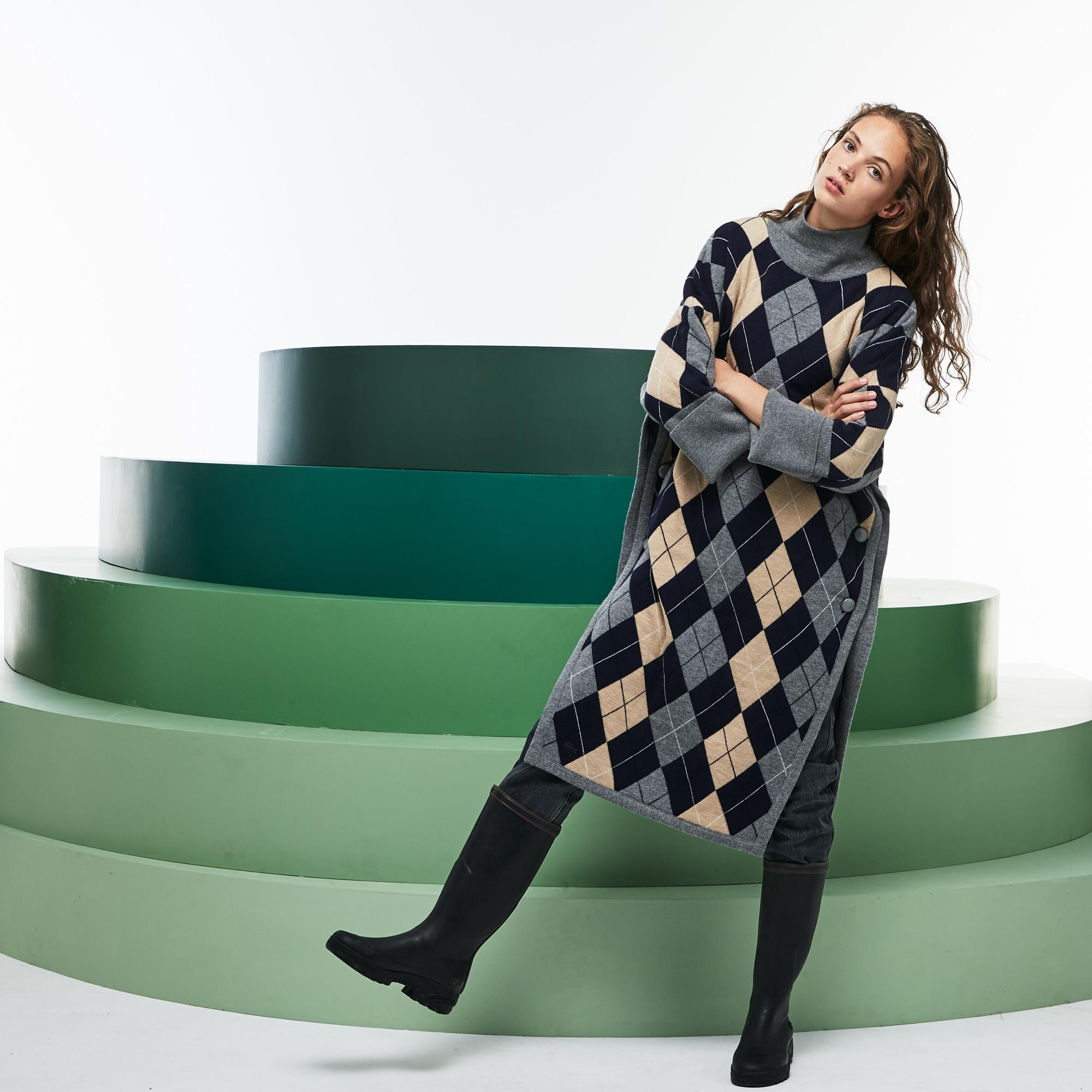 Купить Платье Lacoste, серый, EF6723