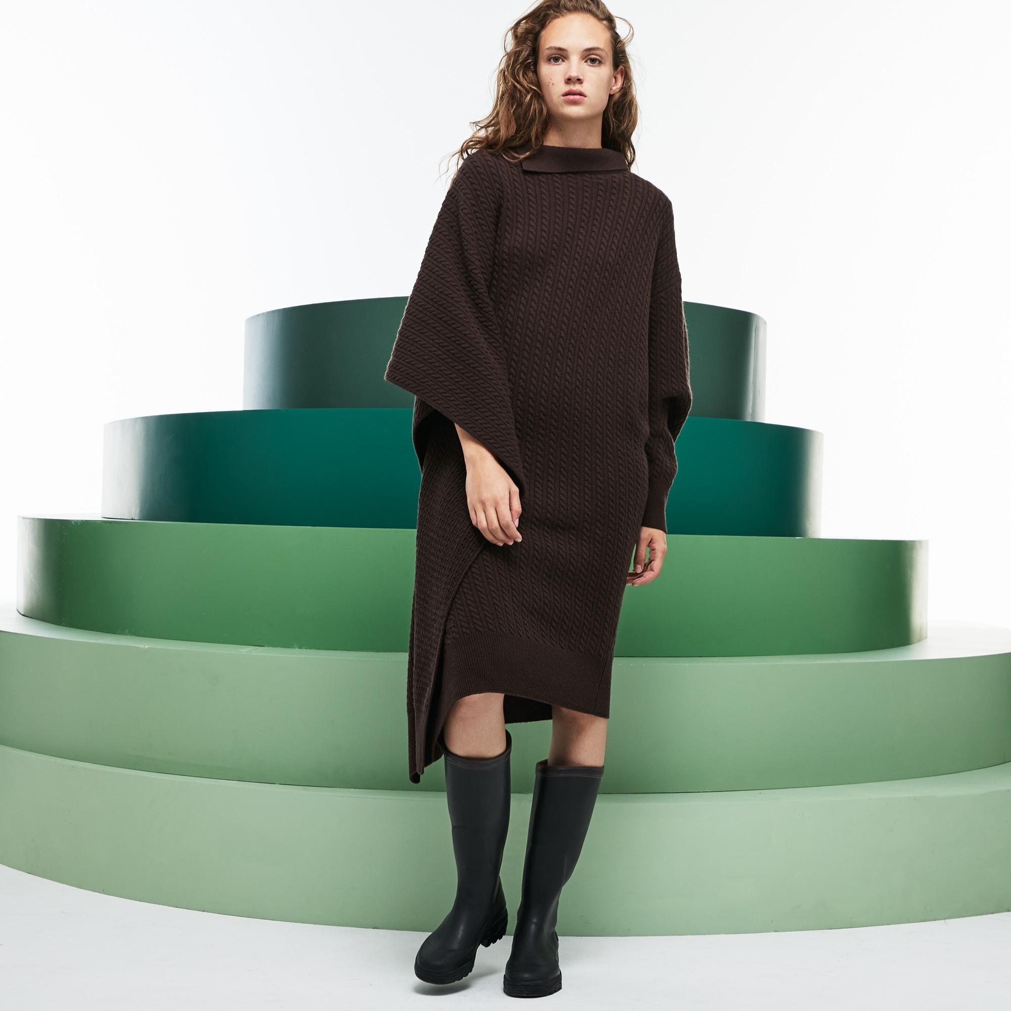 Купить Платье Lacoste, коричневый, EF6802