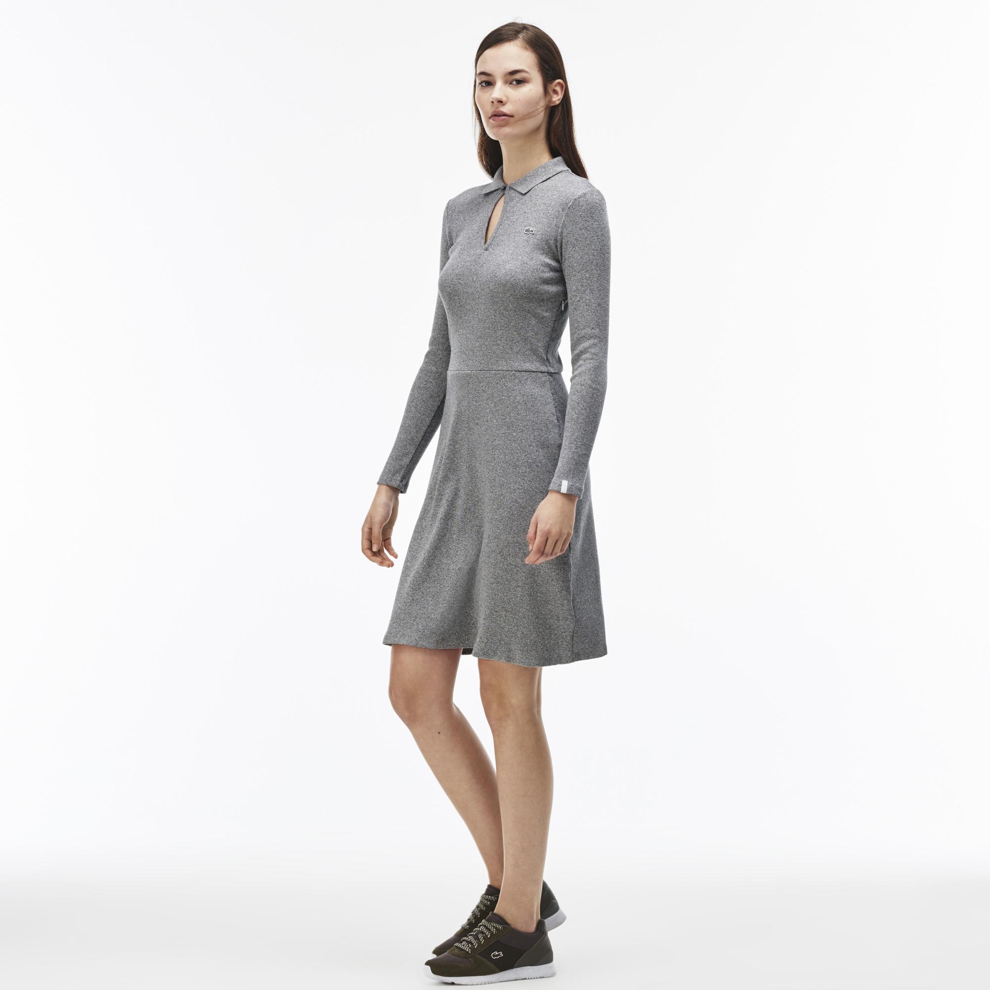 Платье LacosteПлатья и юбки<br>Детали: воротничок  \ Материал: 100% хлопок \ Страна производства: Китай