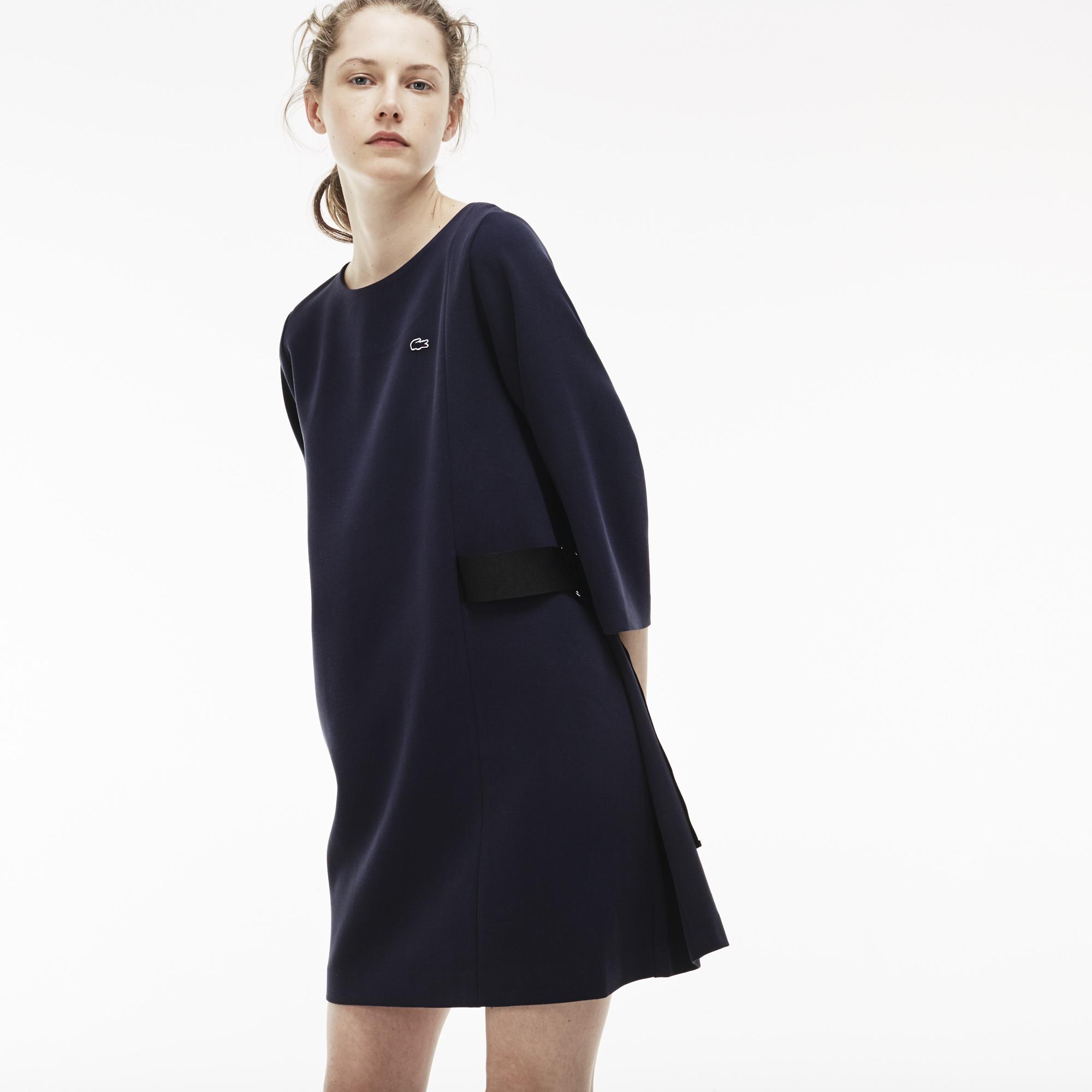 женское платье lacoste, фиолетовое