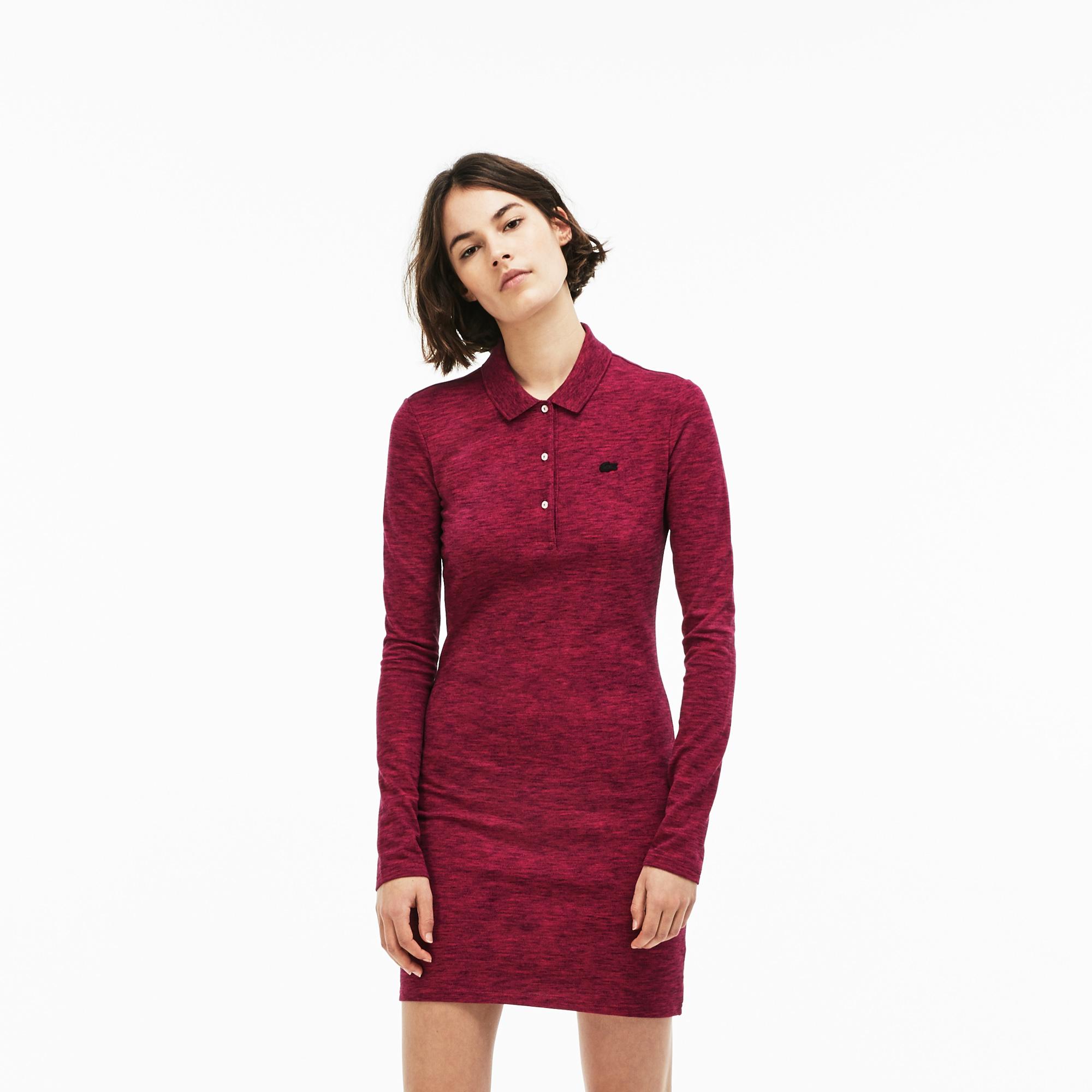 женское платье lacoste, красное