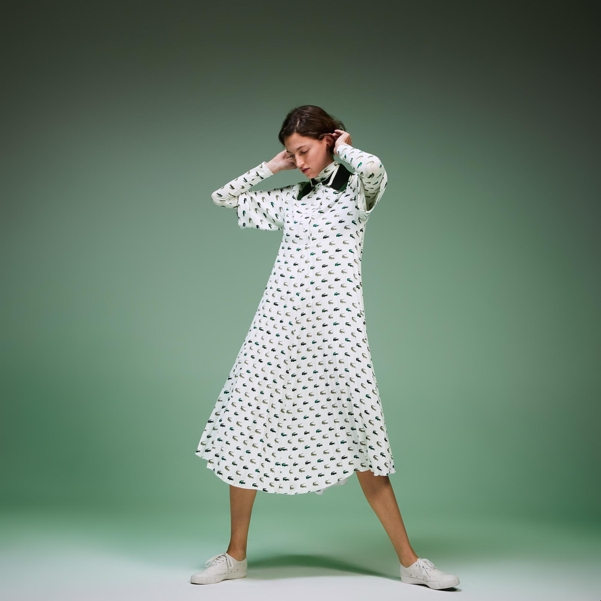 женское платье lacoste, белое