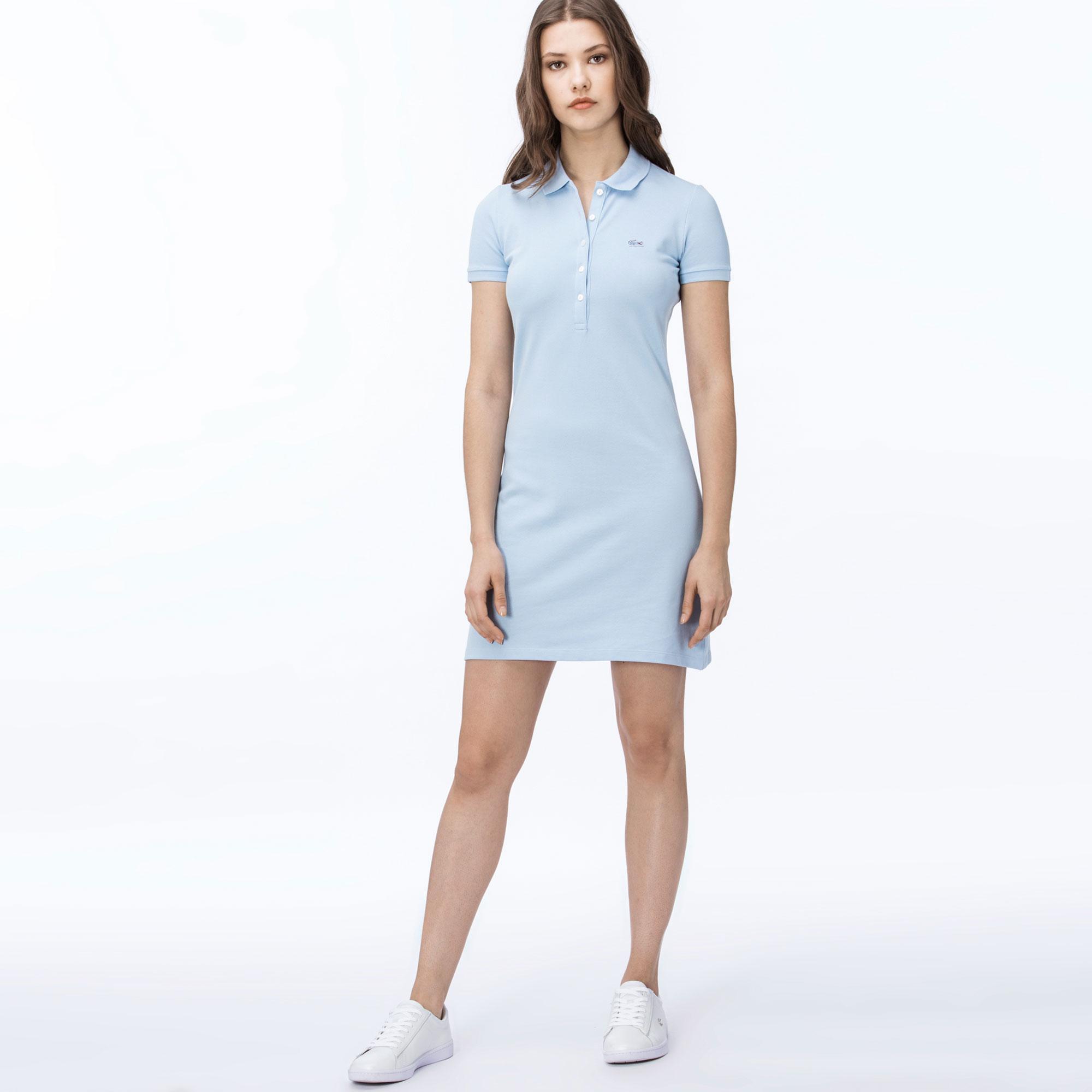 Платье LacosteПлатья и юбки<br>94% хлопок 6% эластан