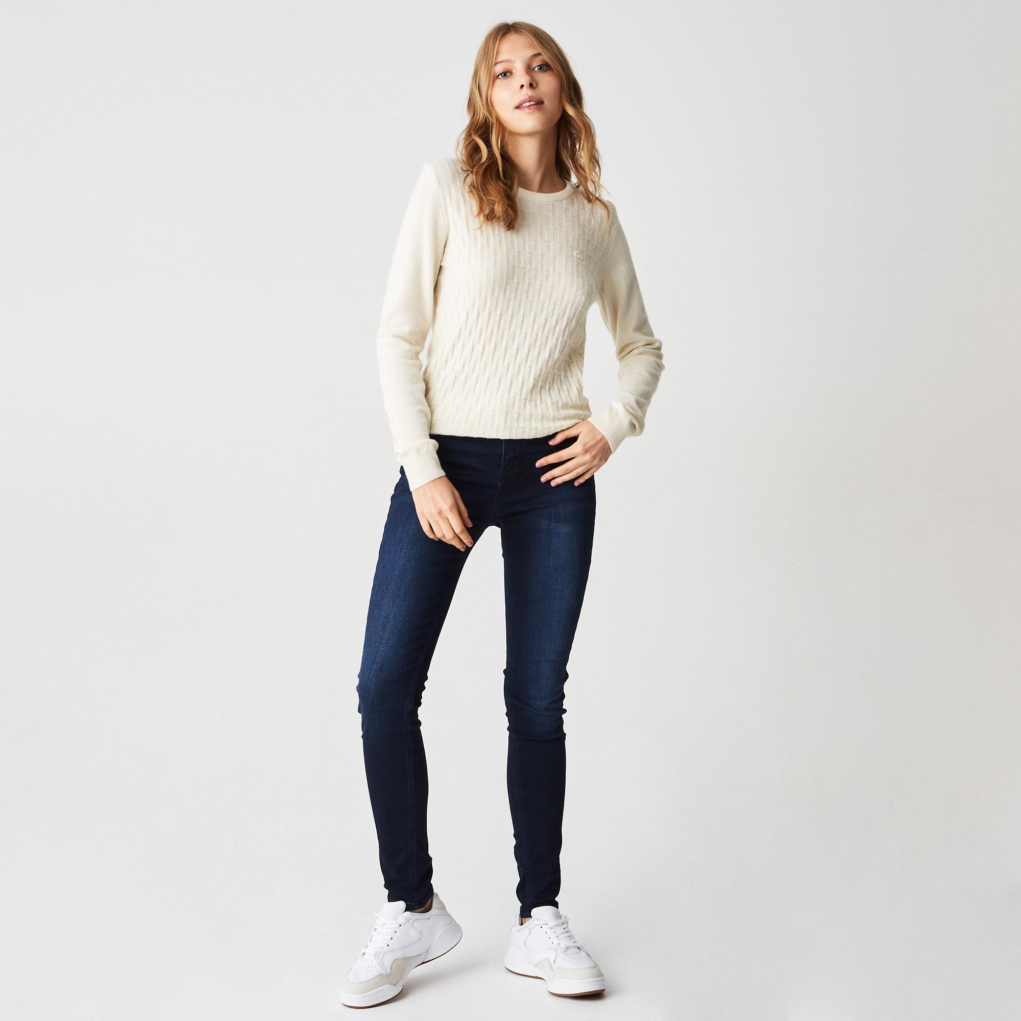 женские джинсы lacoste