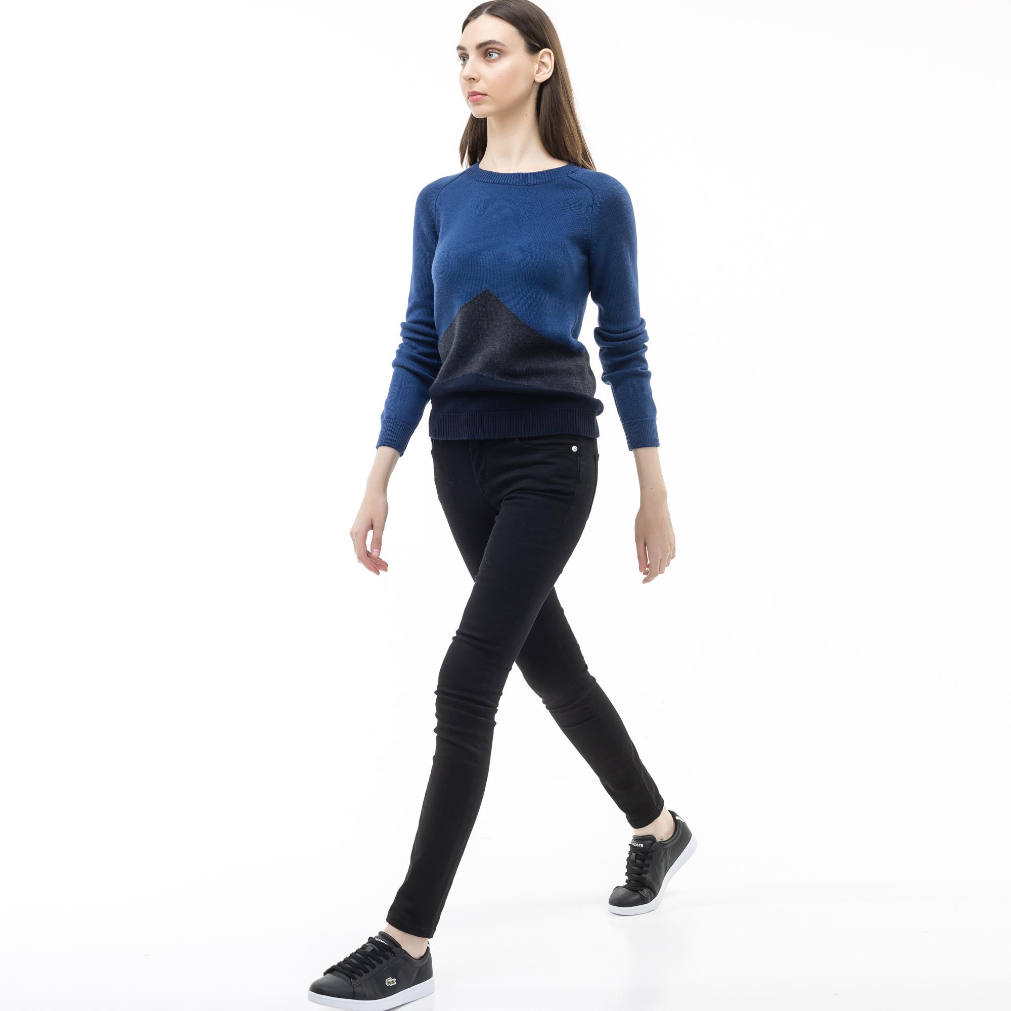 женские джинсы lacoste, черные